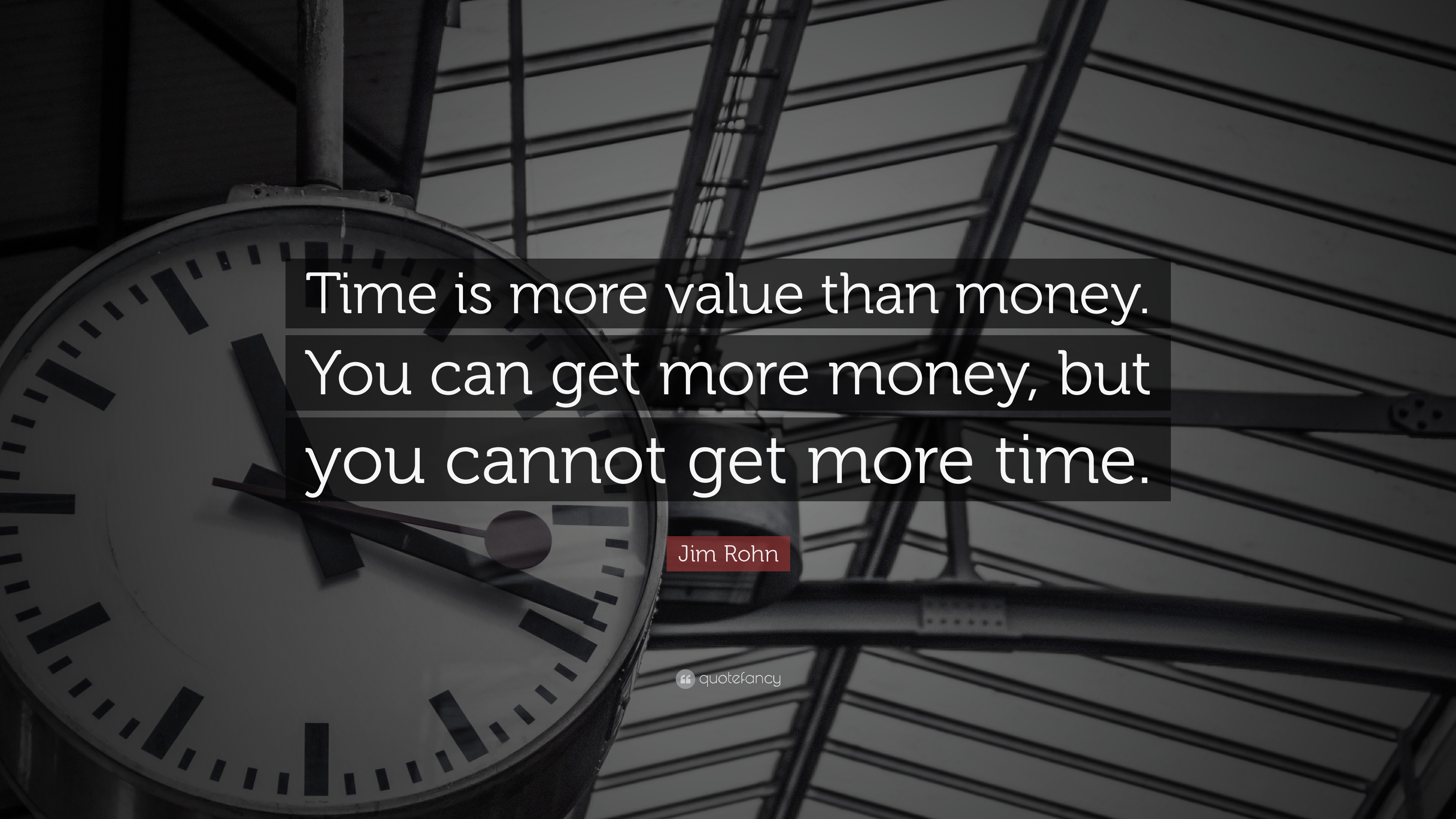 Superior Time Quotes: U201cTime Is More Value Than Money. You Can Get More Money