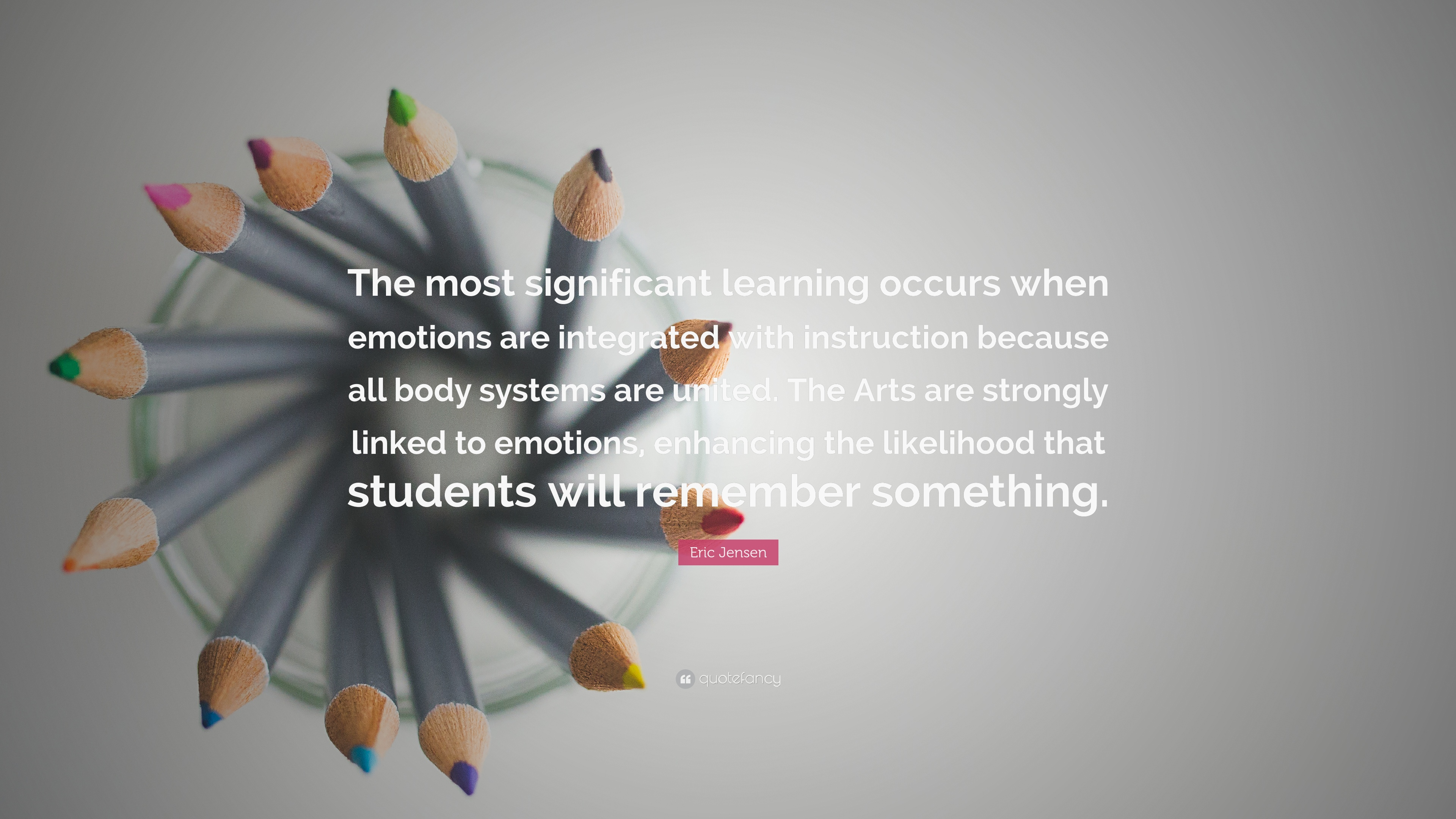 Eric Jensen Quote The Most Significant Learning Occurs When