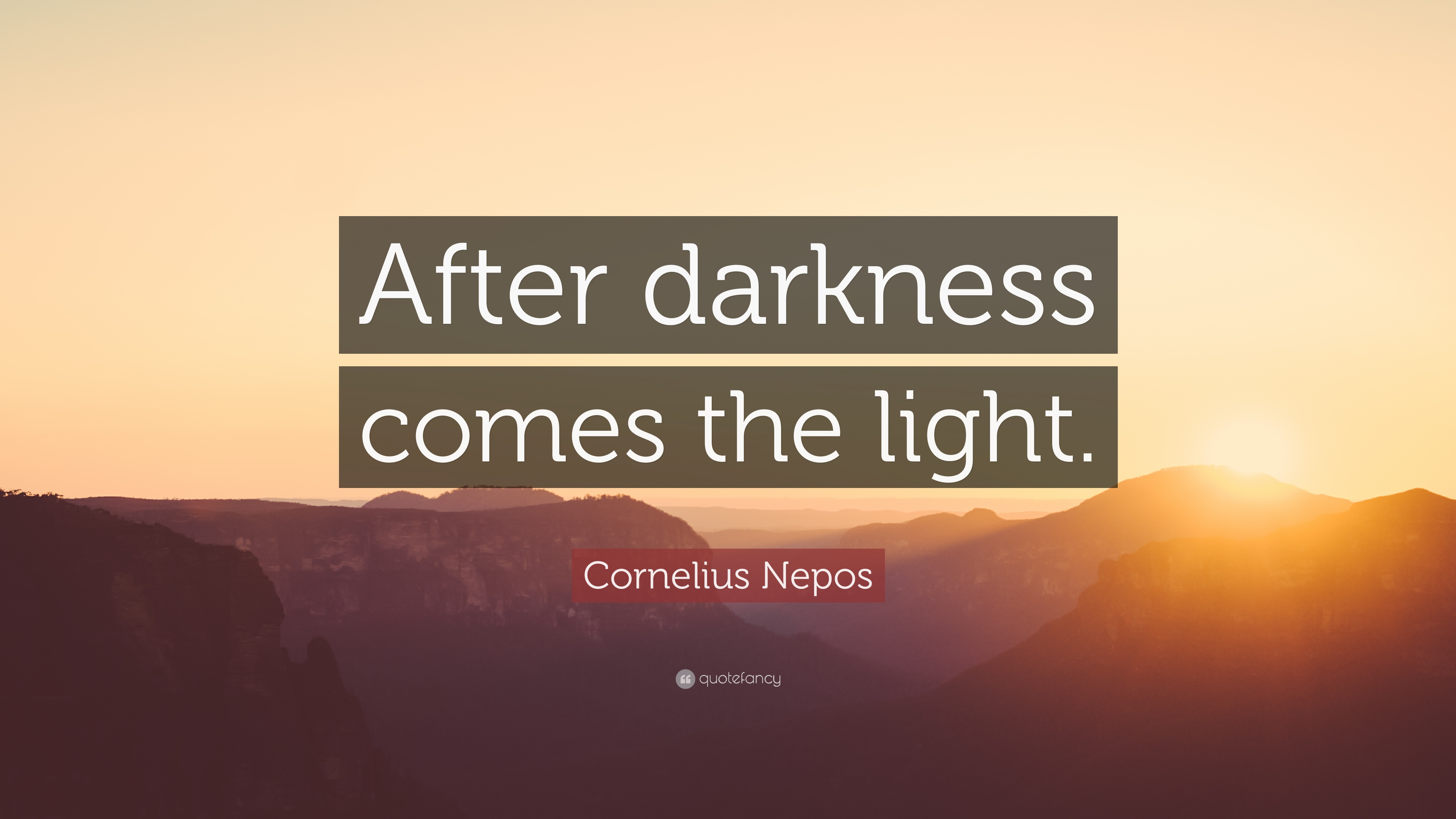Comes the Light