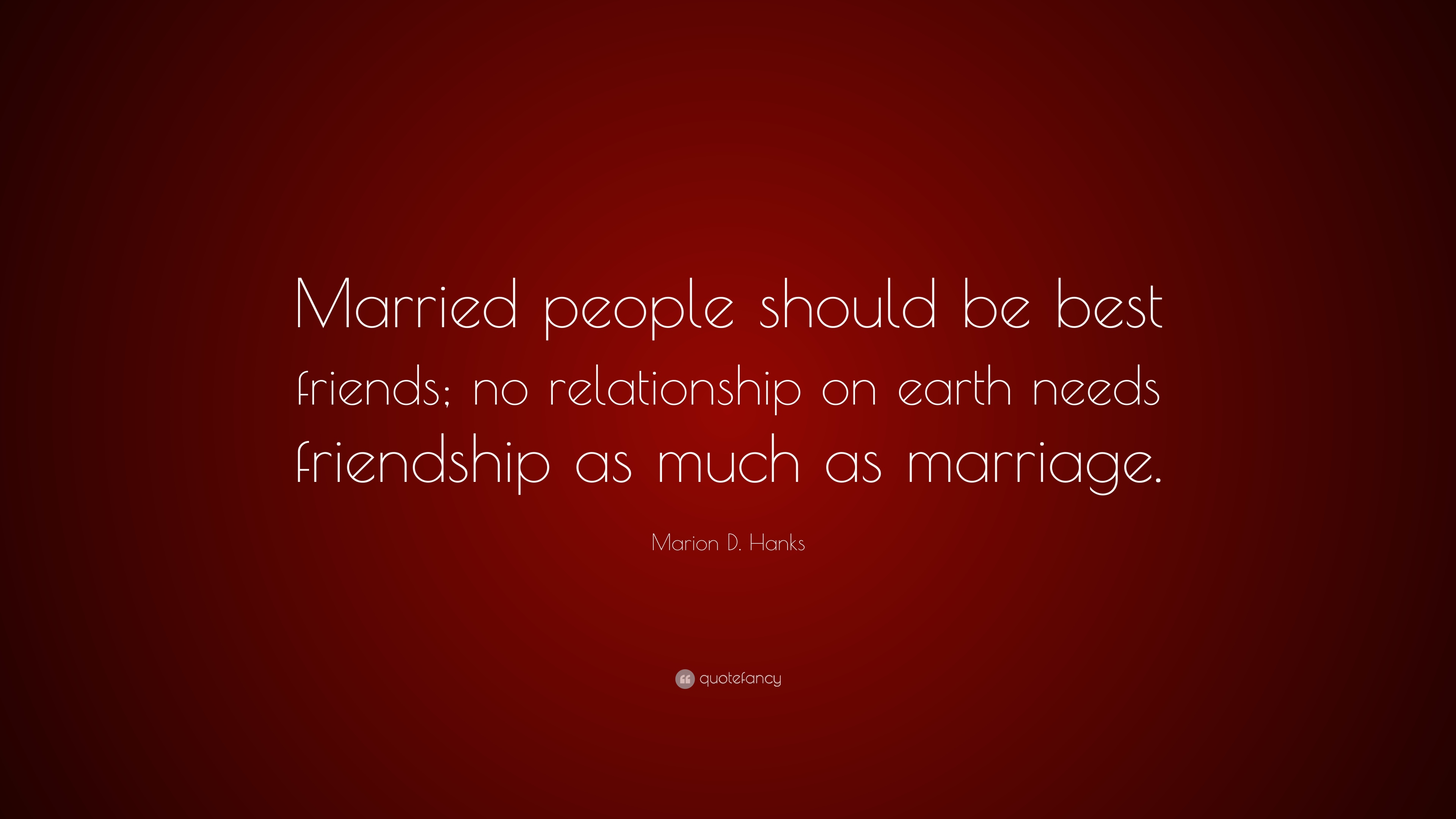 married person looking for friendship