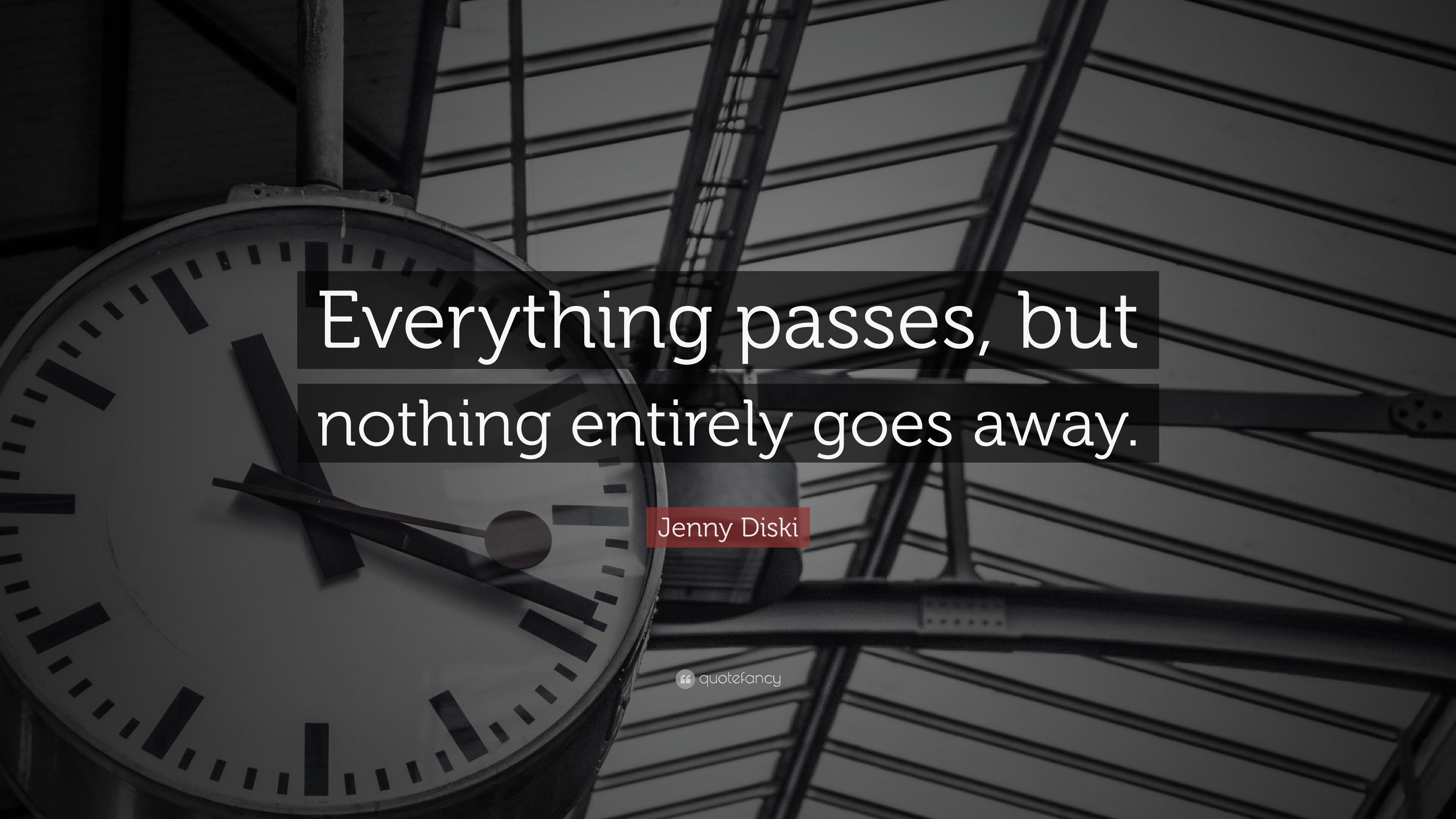 Everything passes 79