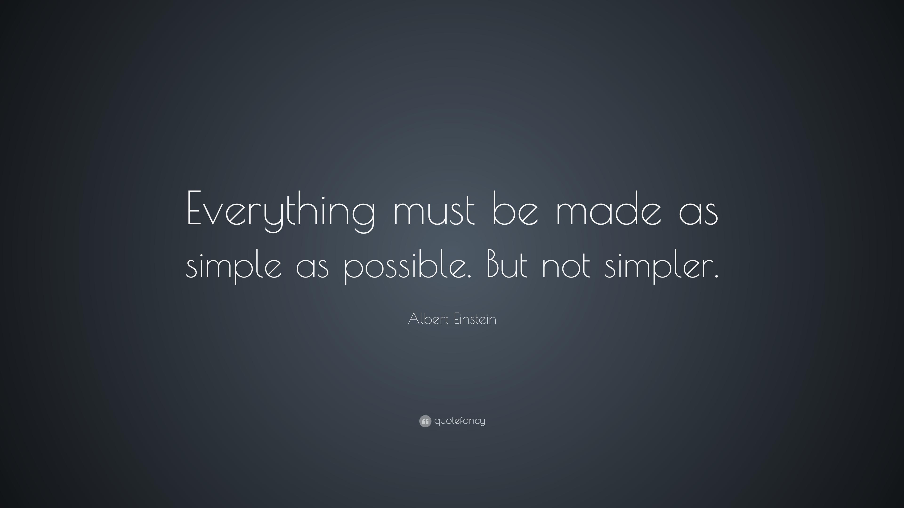 Albert Einstein Quotes Everything