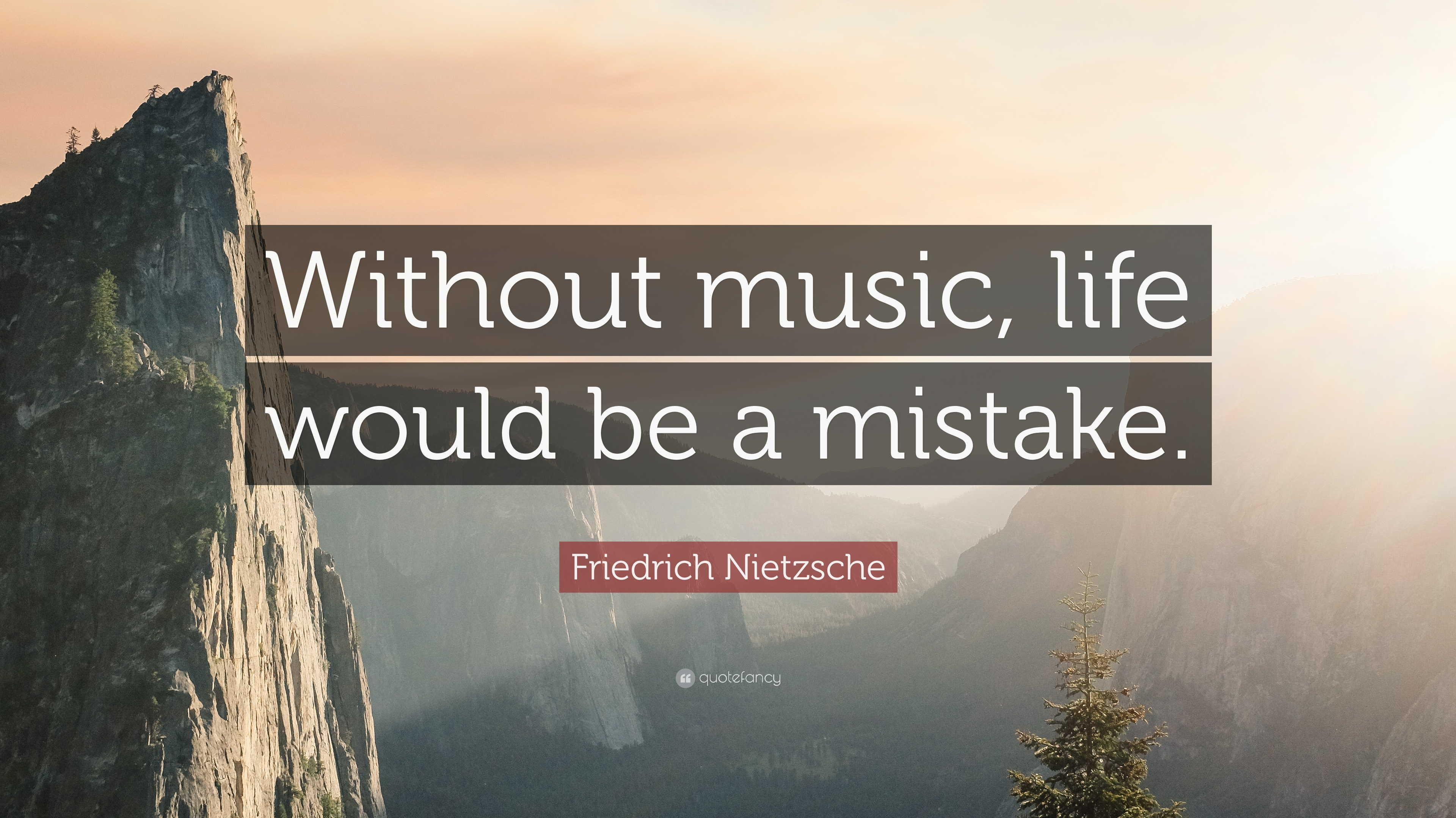 Friedrich Nietzsche Quote Without Music Life Would Be A Mistake