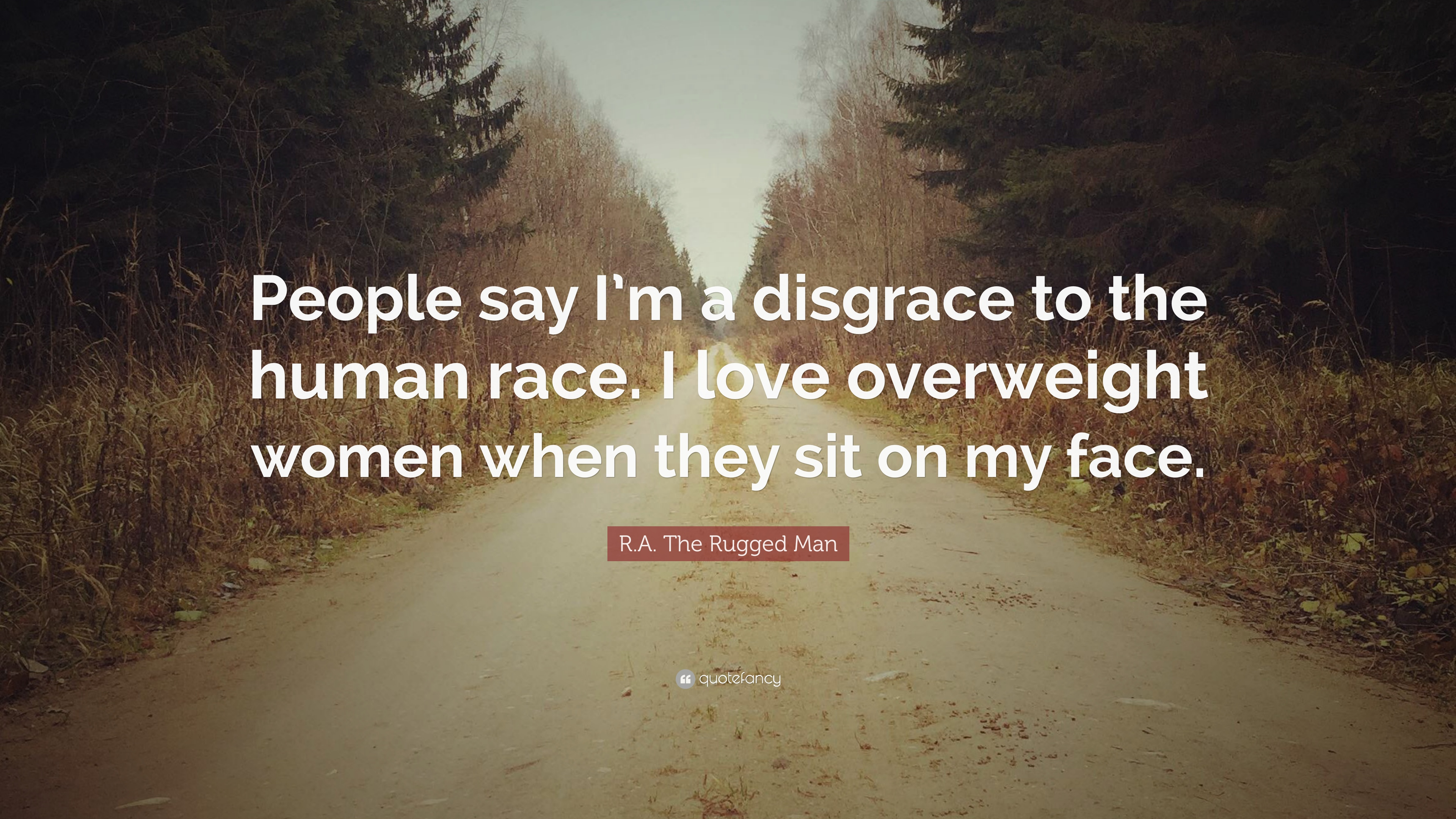"""R.A. The Rugged Man Quote: """"People say I\'m a disgrace to the ..."""