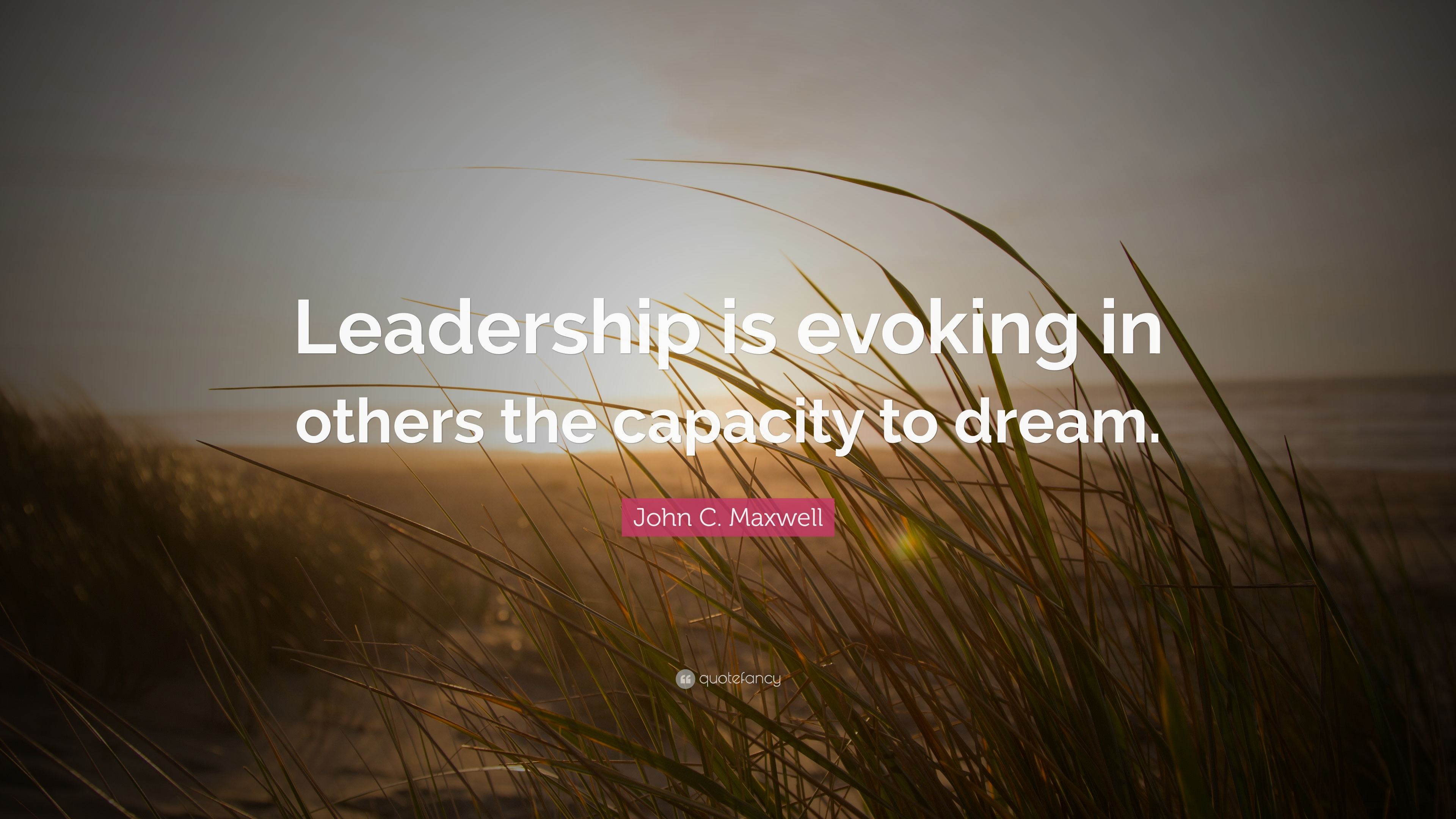 John C Maxwell Quote Leadership Is Evoking In Others The Capacity