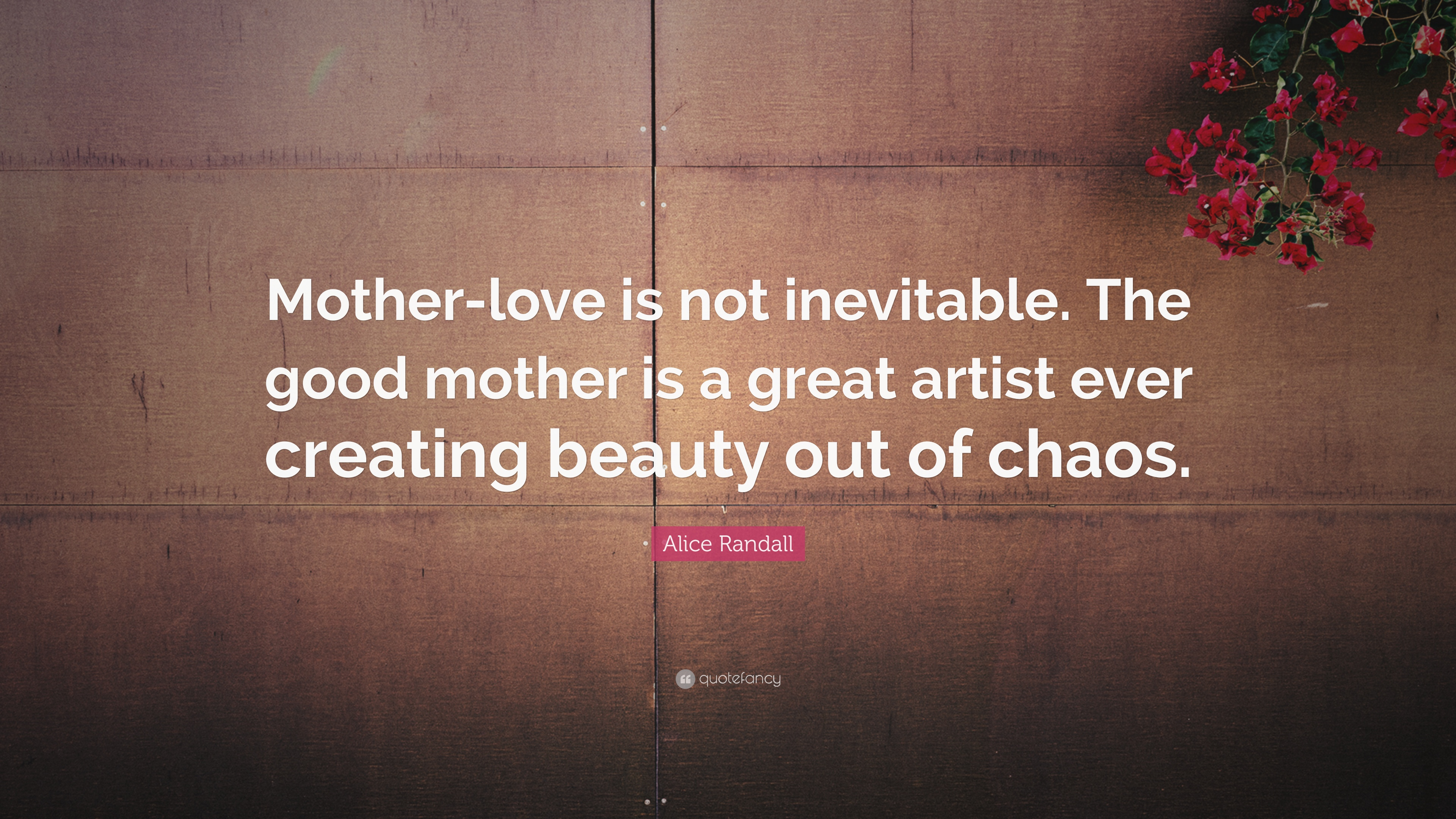 A Mothers Love Quotes 2 Alice Randall Quotes 2 Wallpapers  Quotefancy