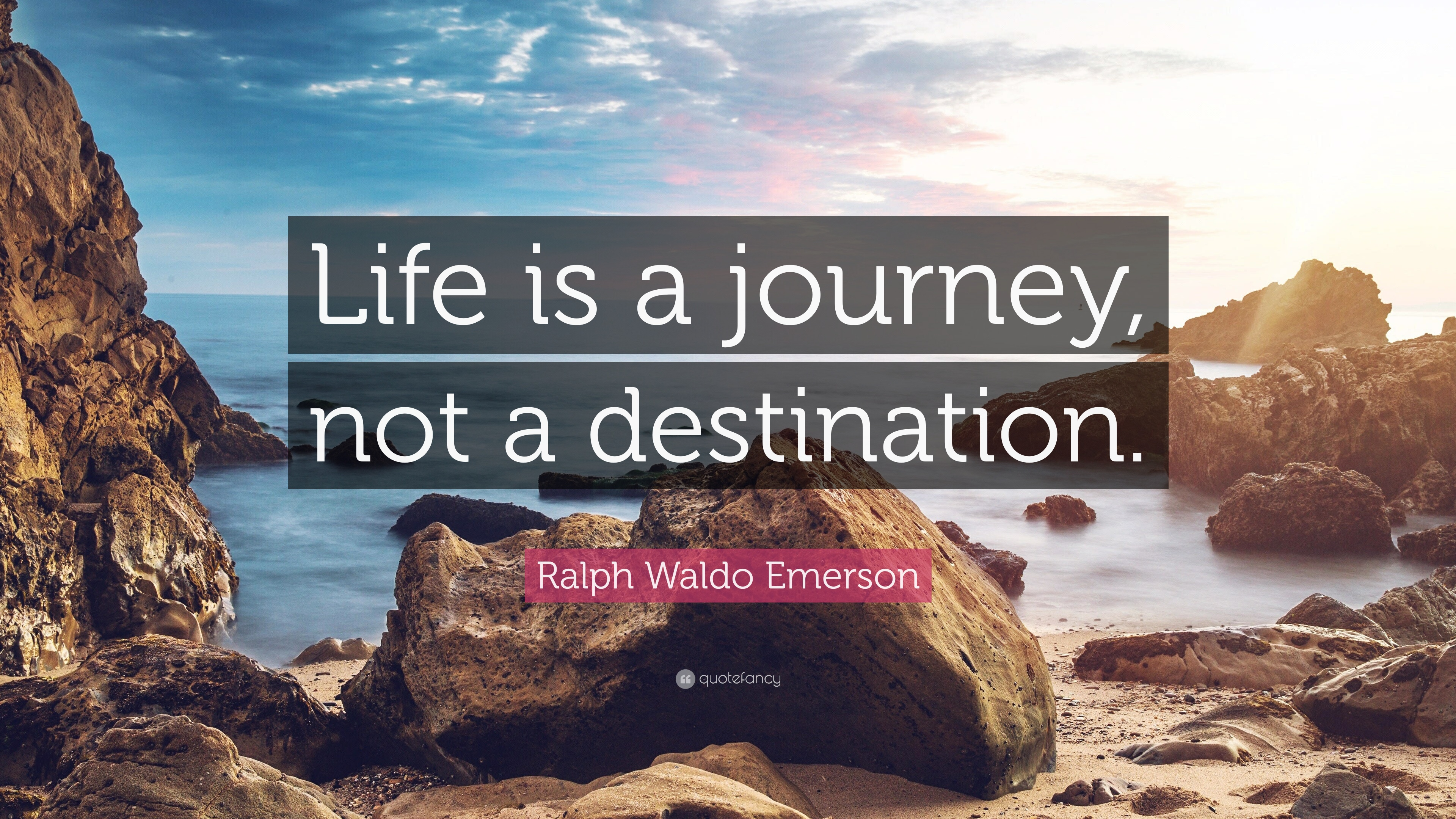 life a journey not a destination essay I believe that life is a journey not a destination learning something new everyday is something i believe that will make your journey worth  this essay, please.