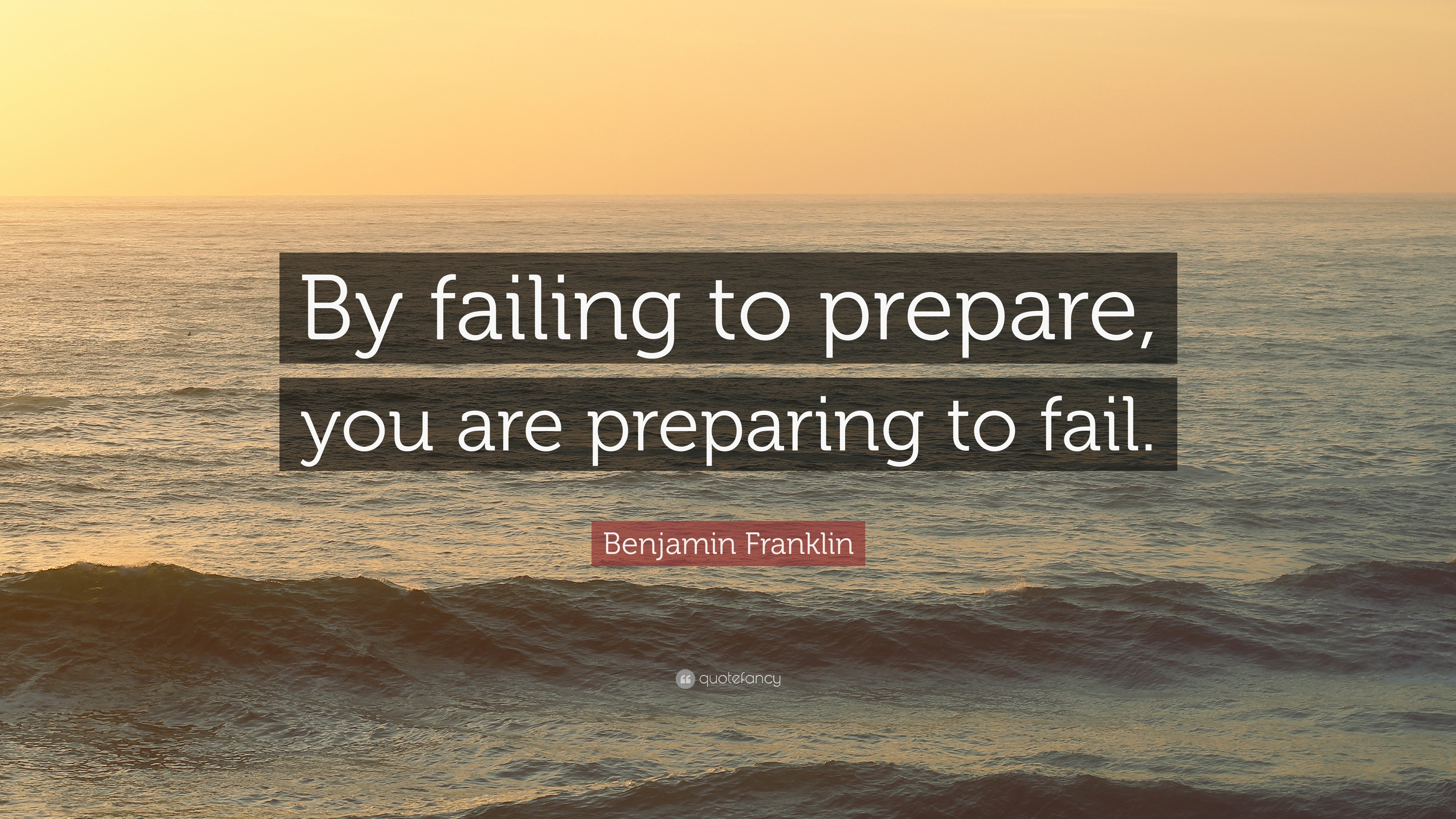 fail to prepare prepare to fail essay If you fail to prepare, you prepare to fail oh i sounded so philosophical there if you don't have keto friendly foods on hand and ready to go, and you live with others that do not follow the diet you can be setting yourself for failure.