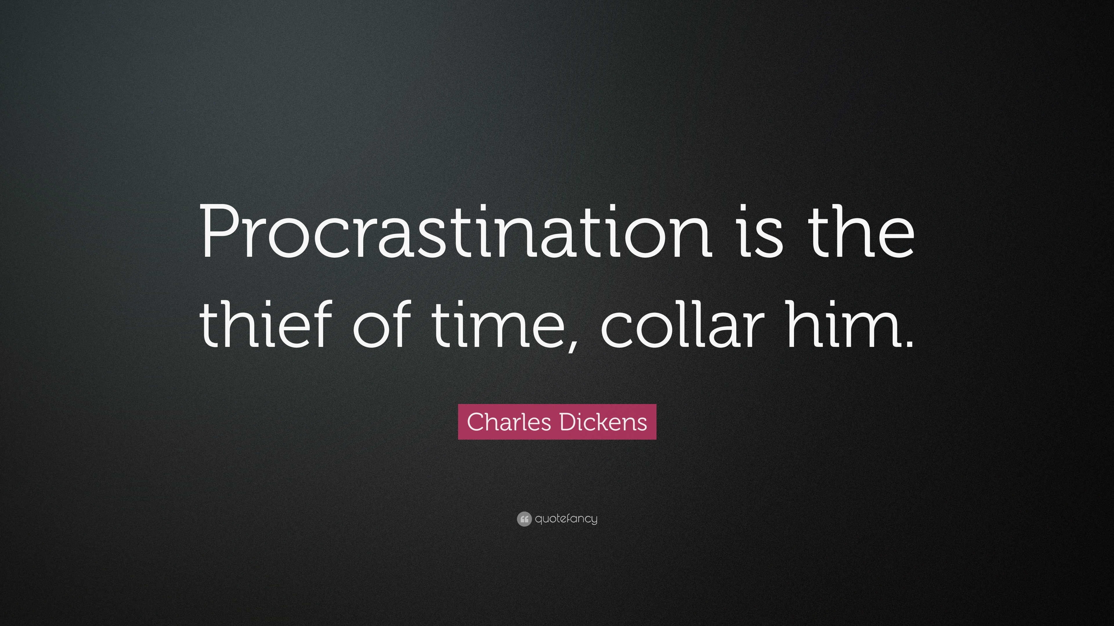 essay on procrastination is a subtle thief of time