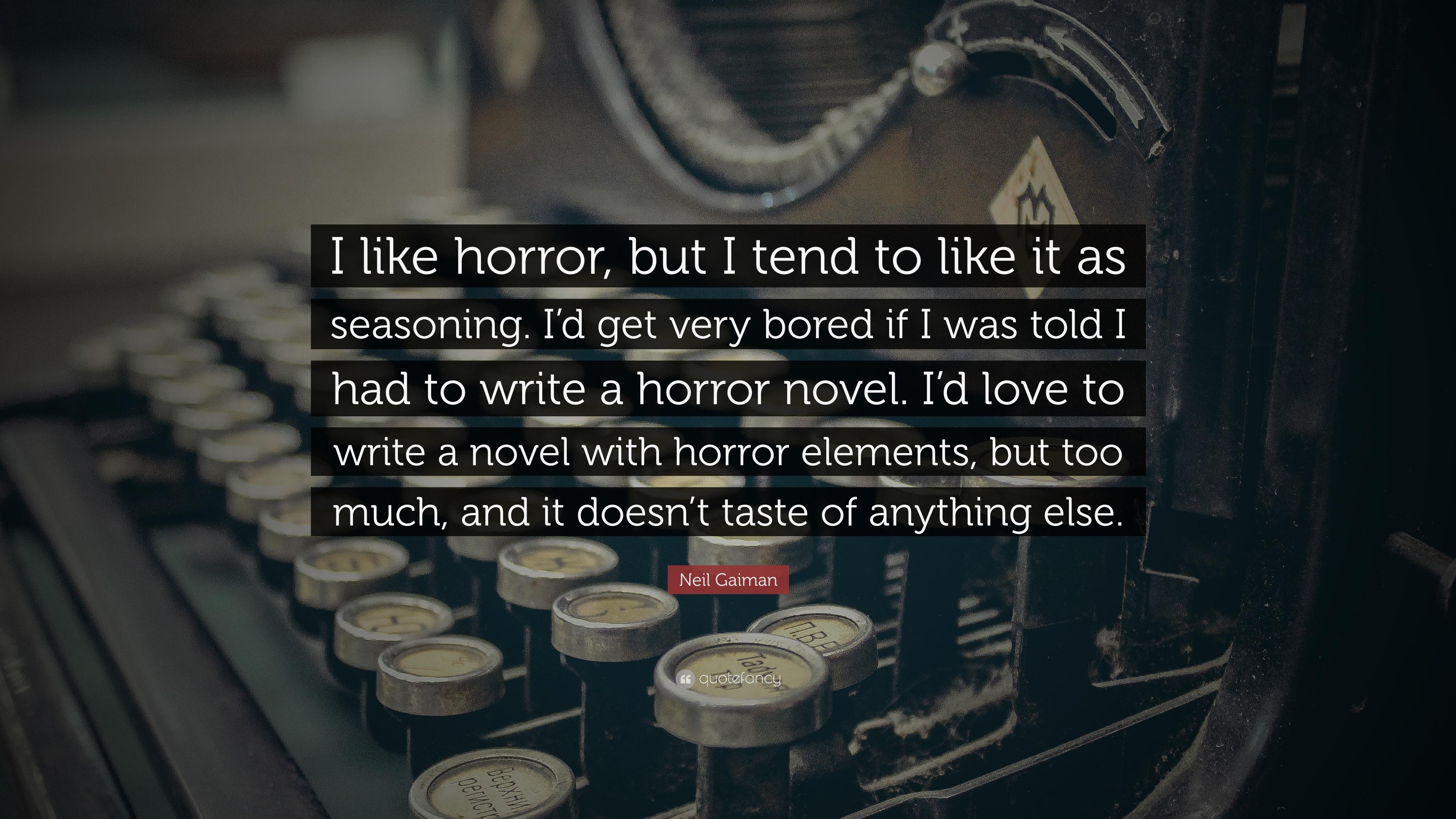 I would love to Write a Novel....?