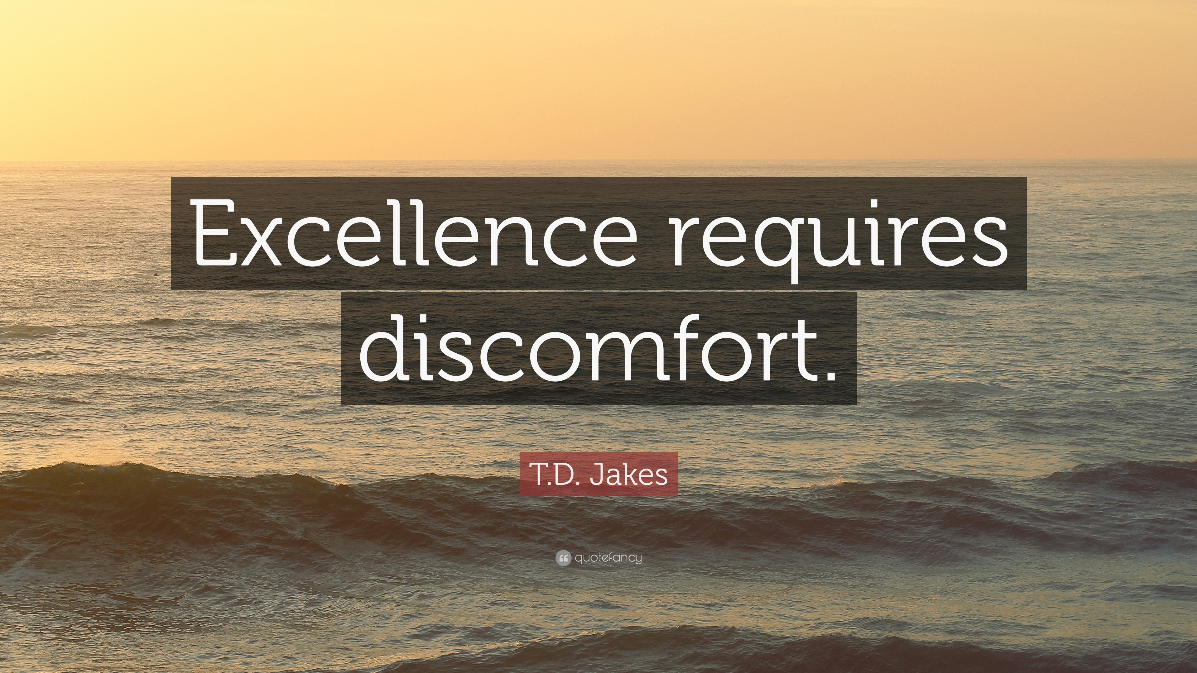"Td Jakes Quotes On Life T.djakes Quote ""Excellence Requires Discomfort."" 20 Wallpapers"