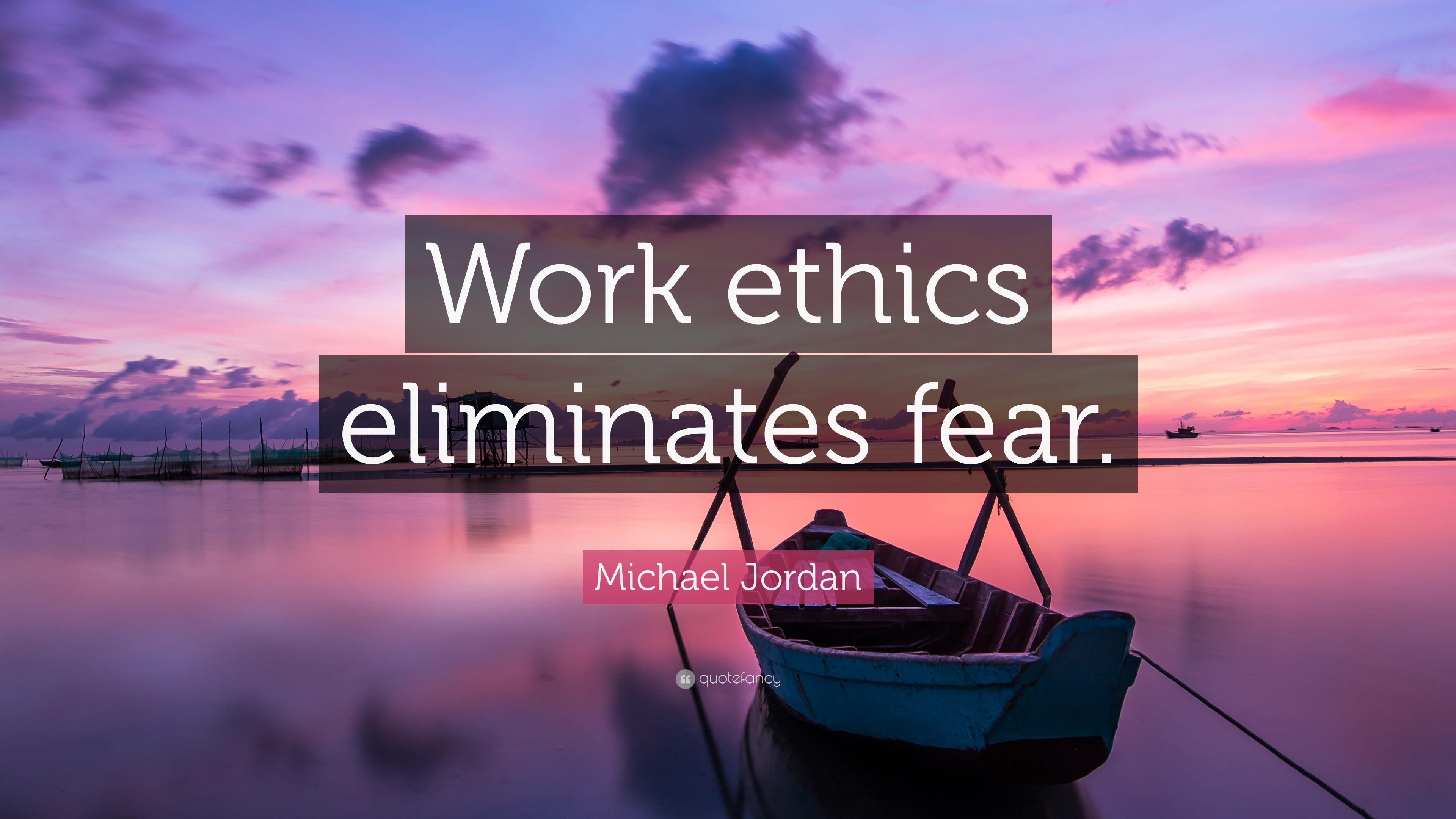 Essay on work ethics