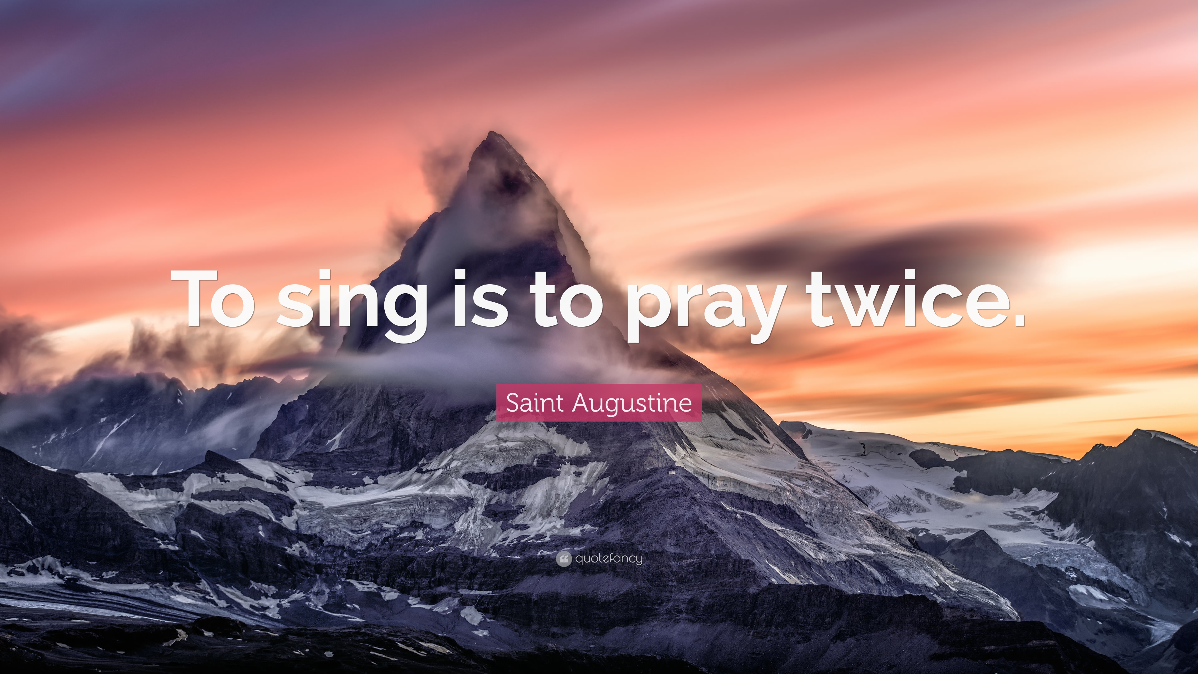 Image result for Saint quotes about singing