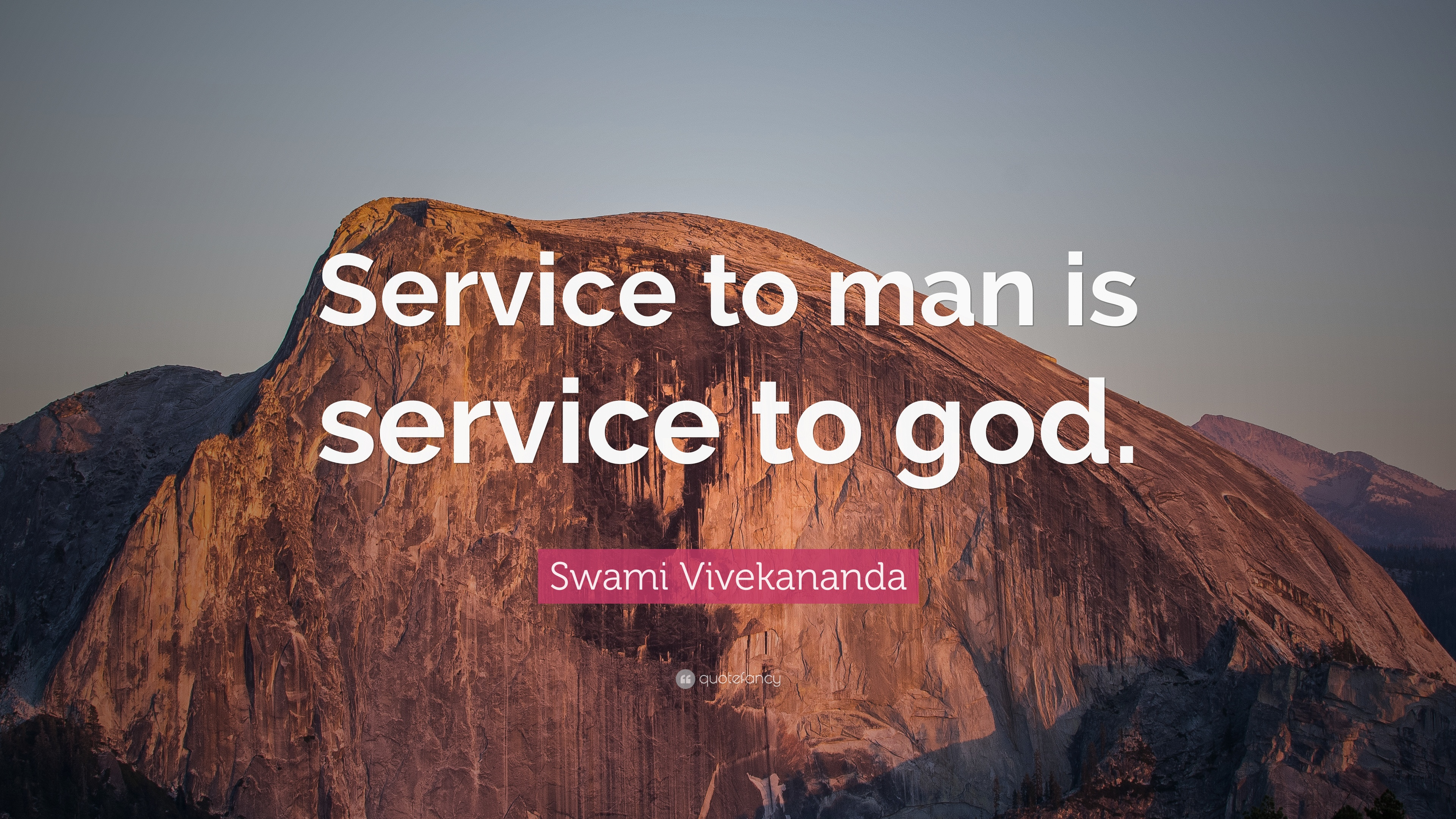 Service to man is service to god