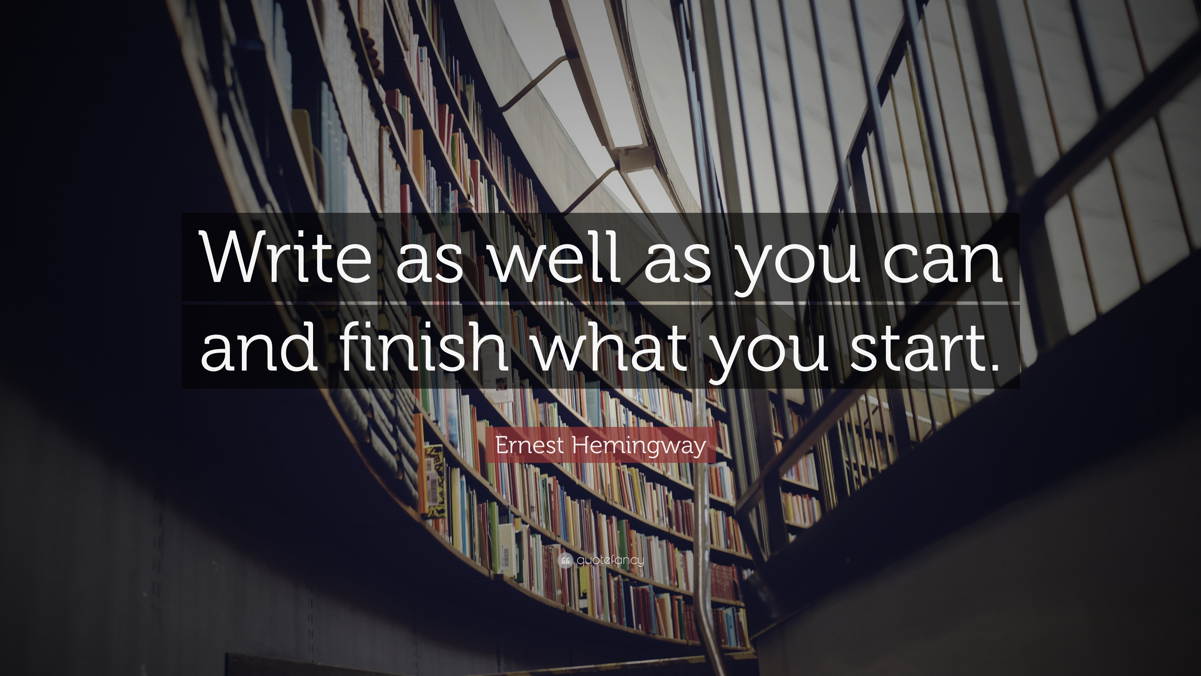 finish what you start quotes