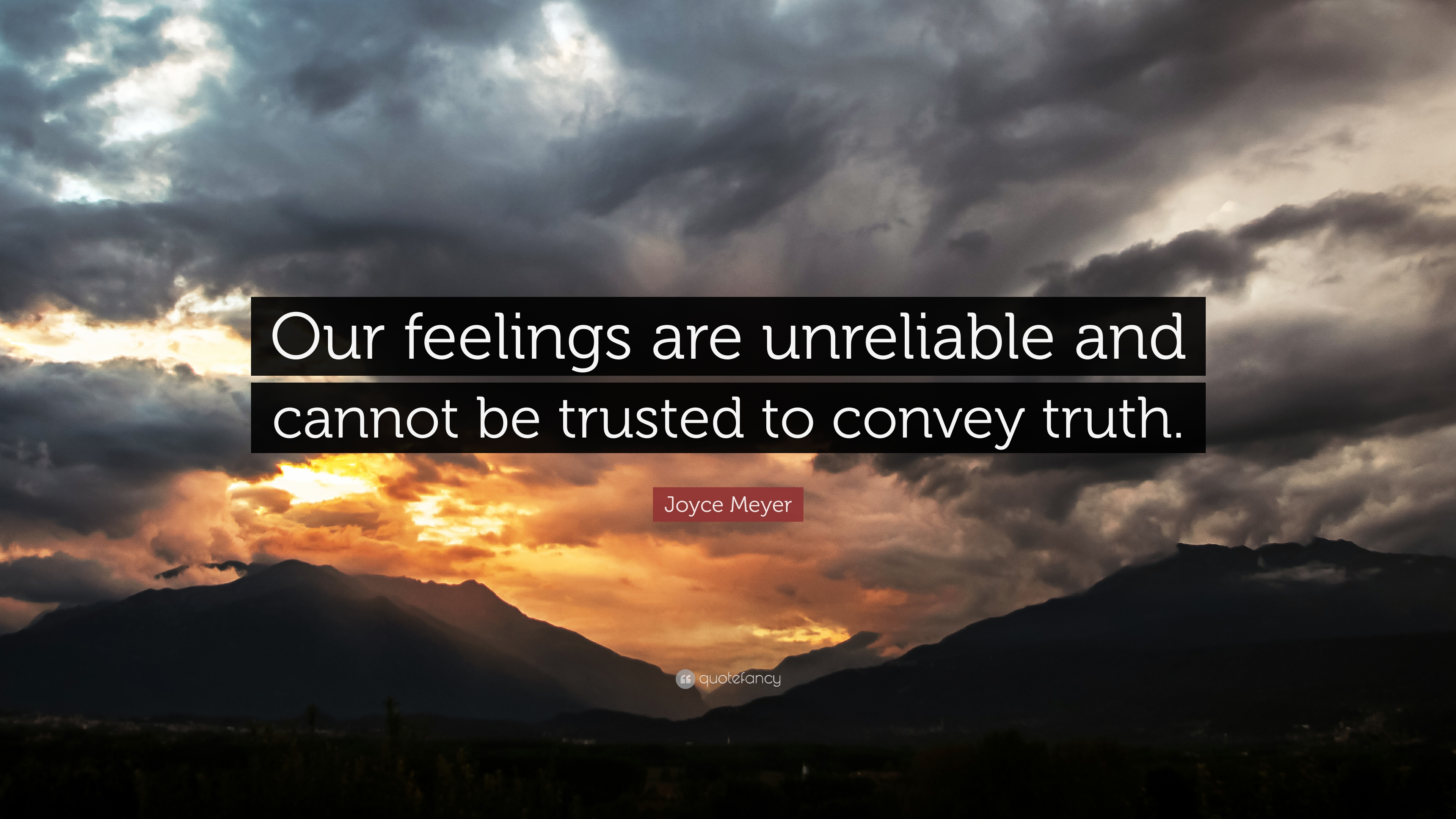Joyce Meyer Quotes About Feelings