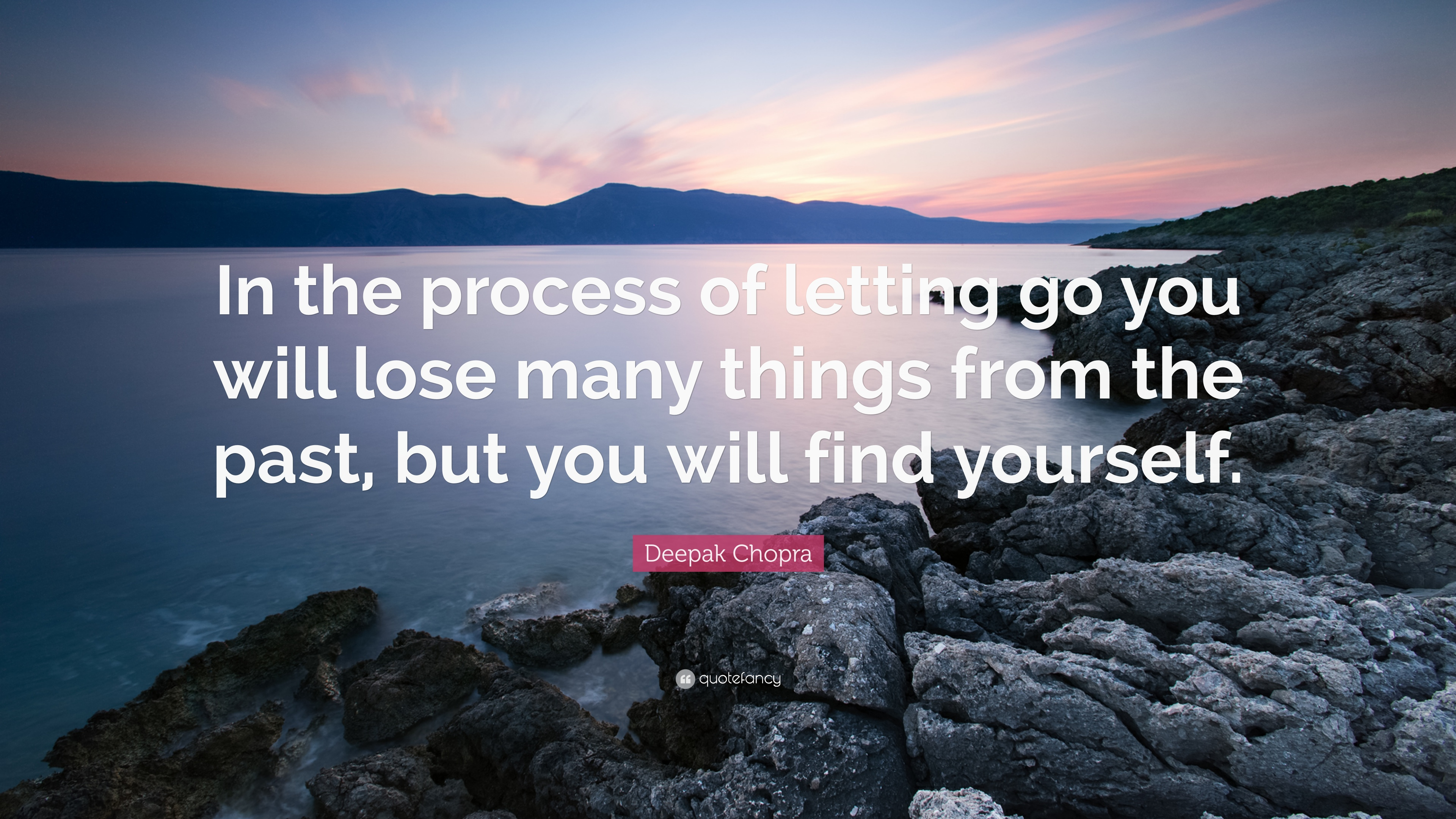Perfect Deepak Chopra Quote: U201cIn The Process Of Letting Go You Will Lose Many Things