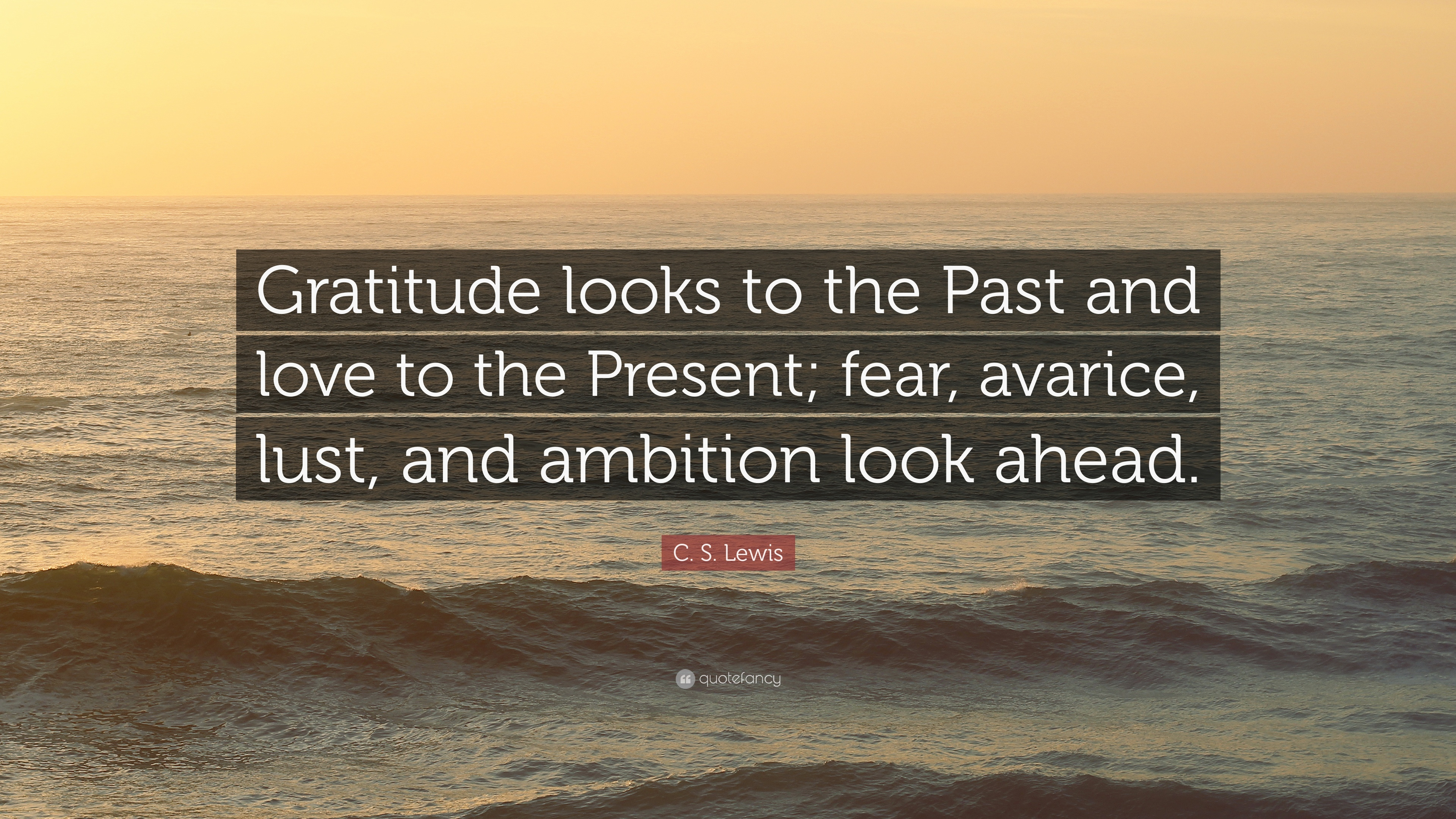 """Cs Lewis Quotes On Love Cslewis Quote """"Gratitude Looks To The Past And Love To The"""