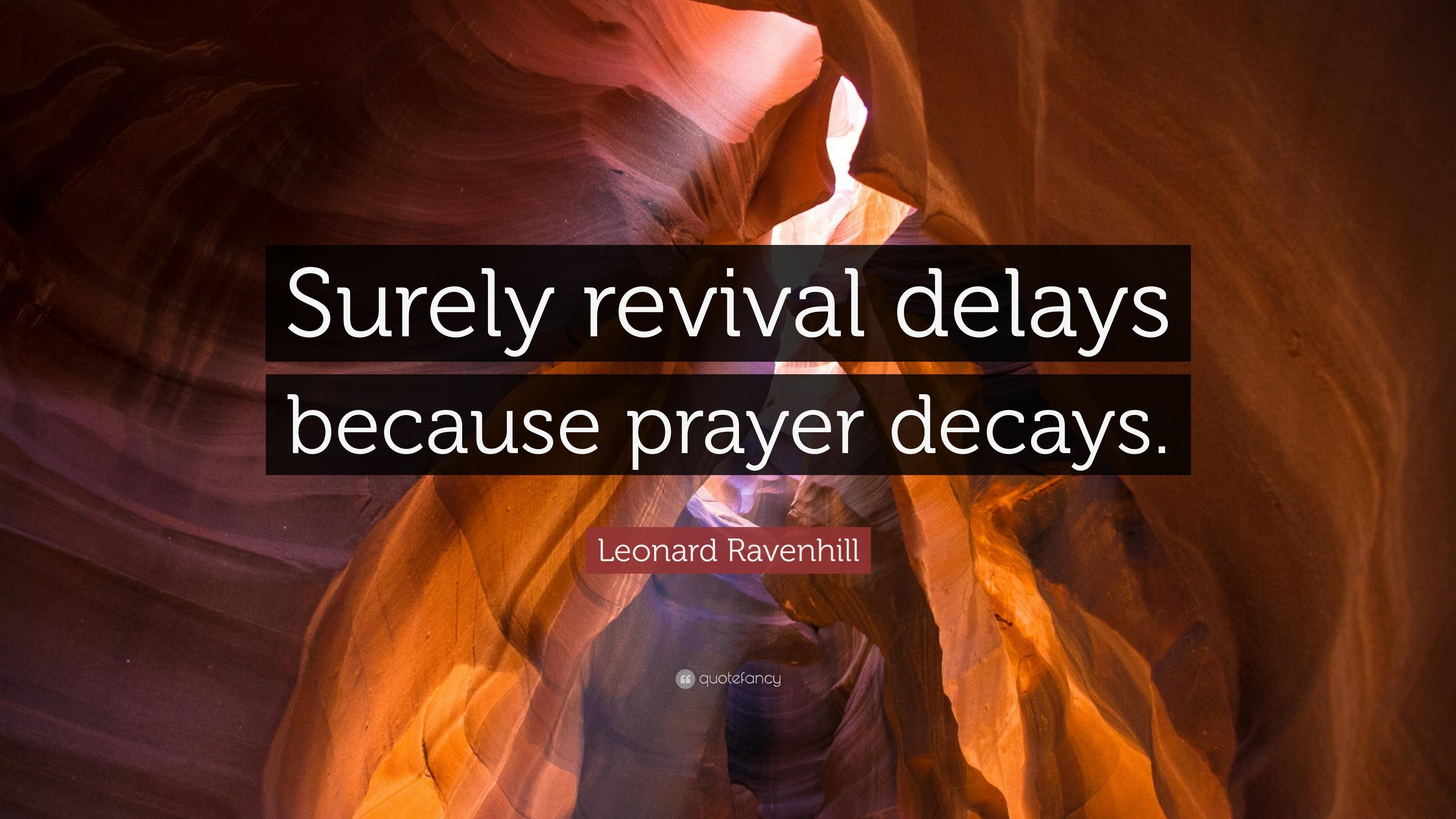 Revival Praying Leonard Ravenhill Pdf