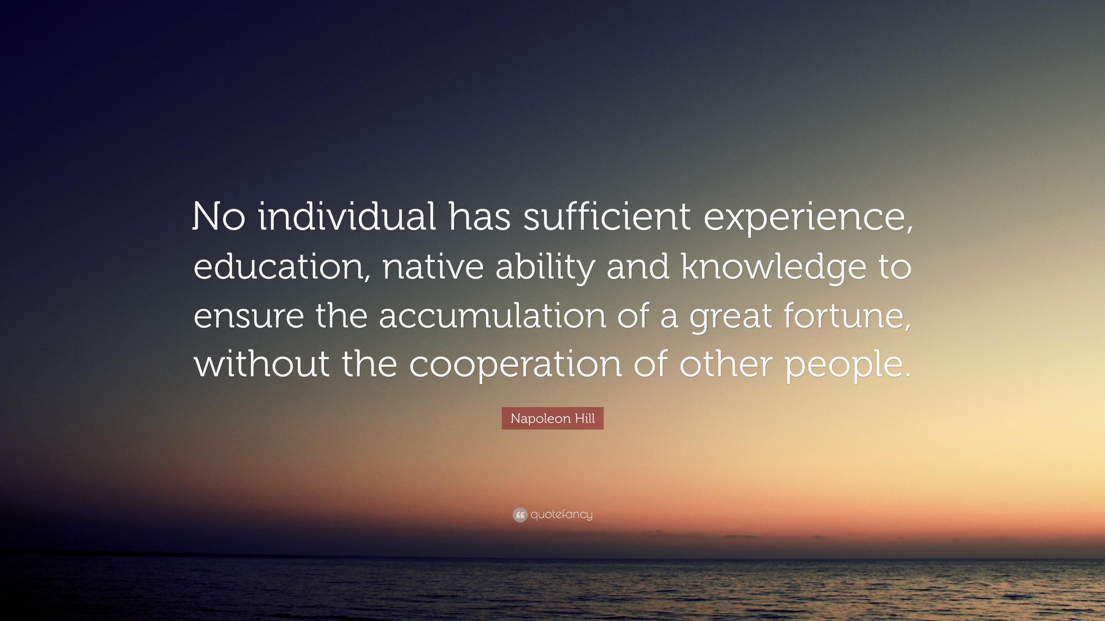 Success Principle # 13: Cooperation