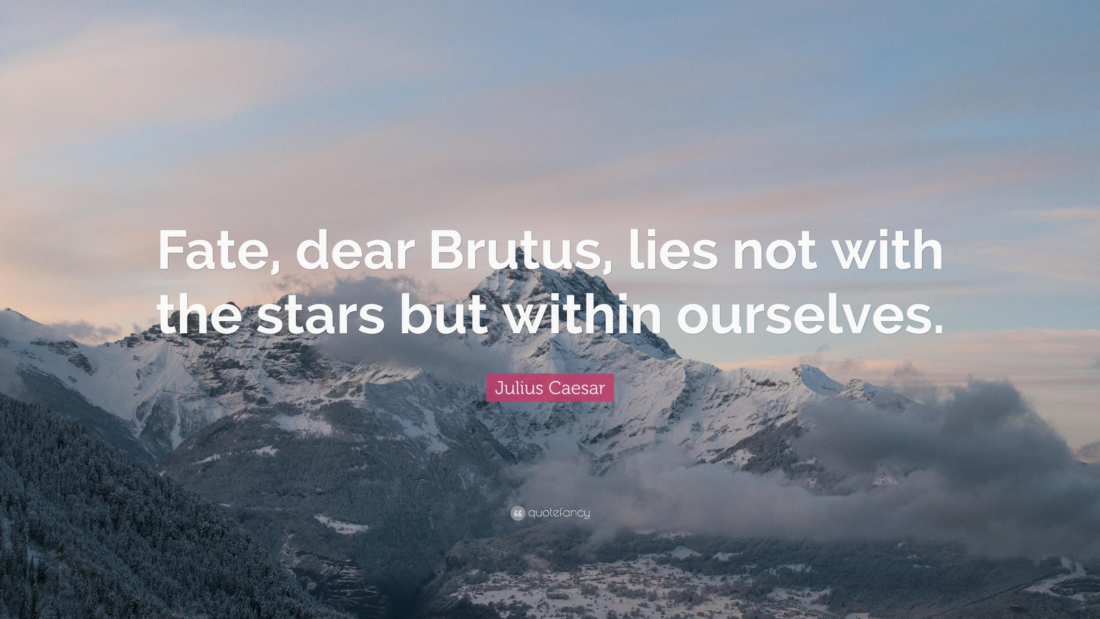 Brutus From Julius Caesar Quotes