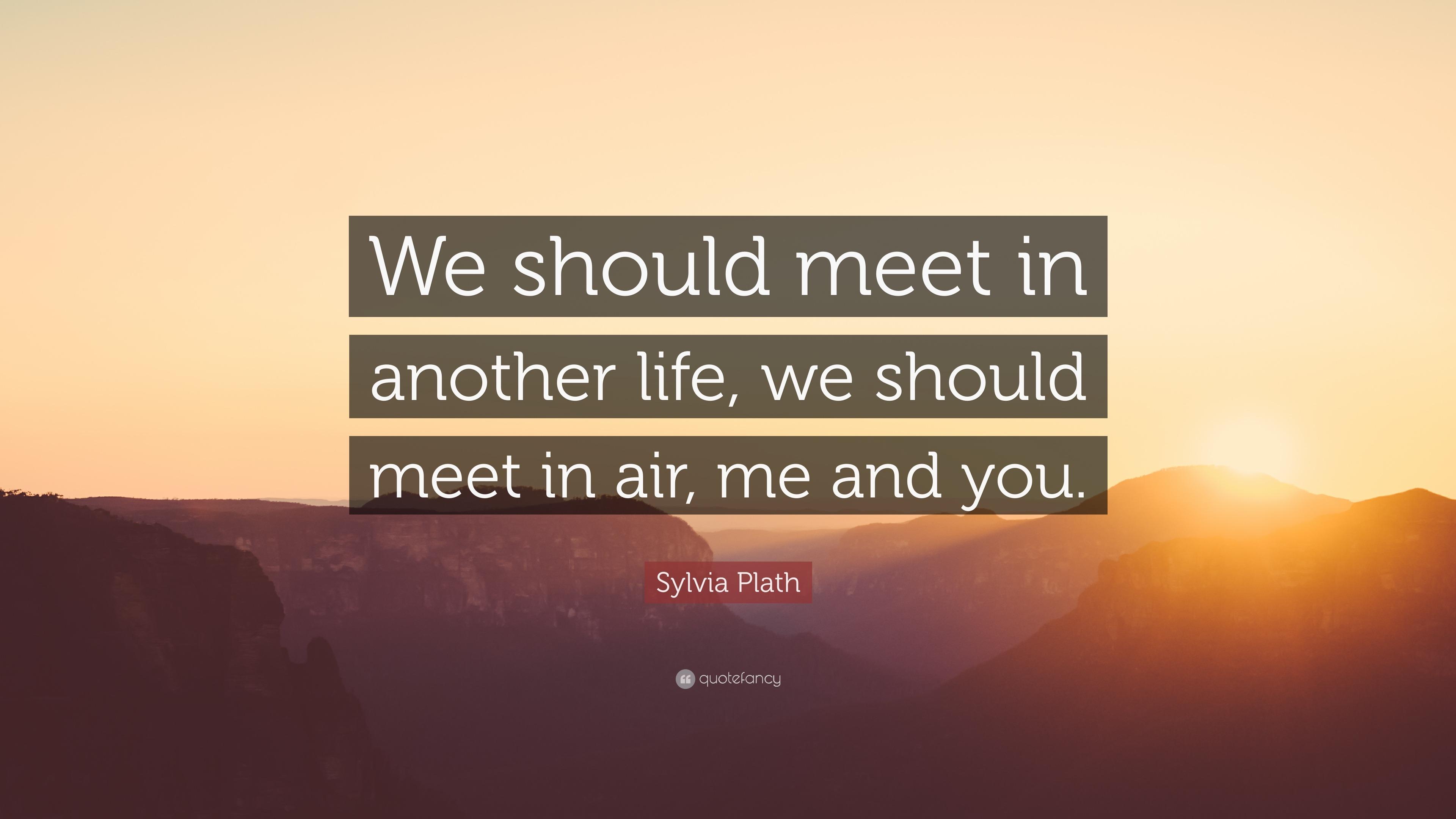 you should meet