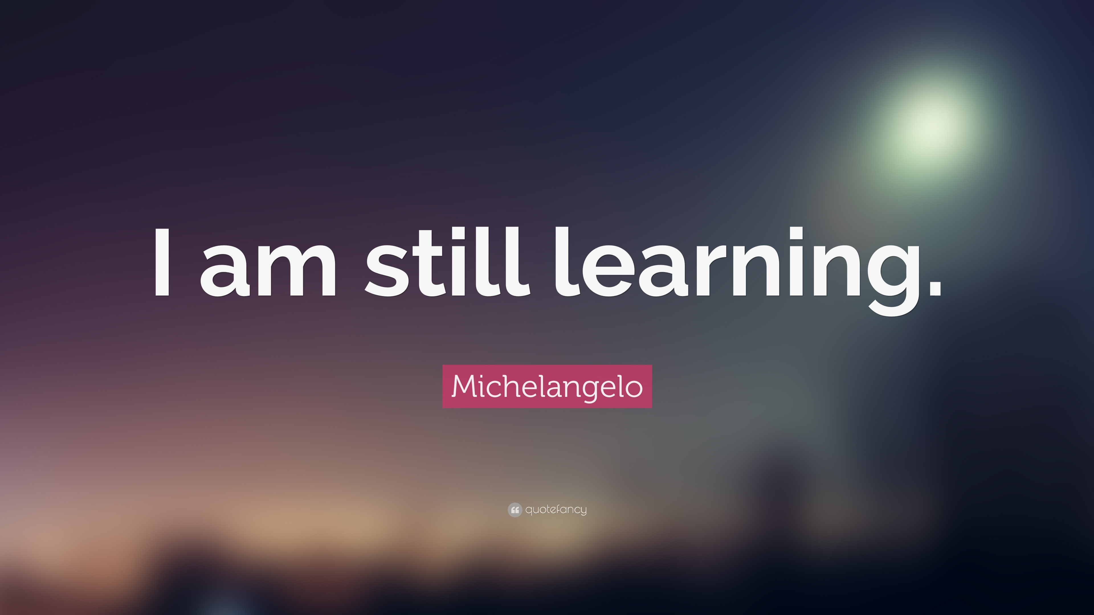 michelangelo quote   u201ci am still learning  u201d  17 wallpapers