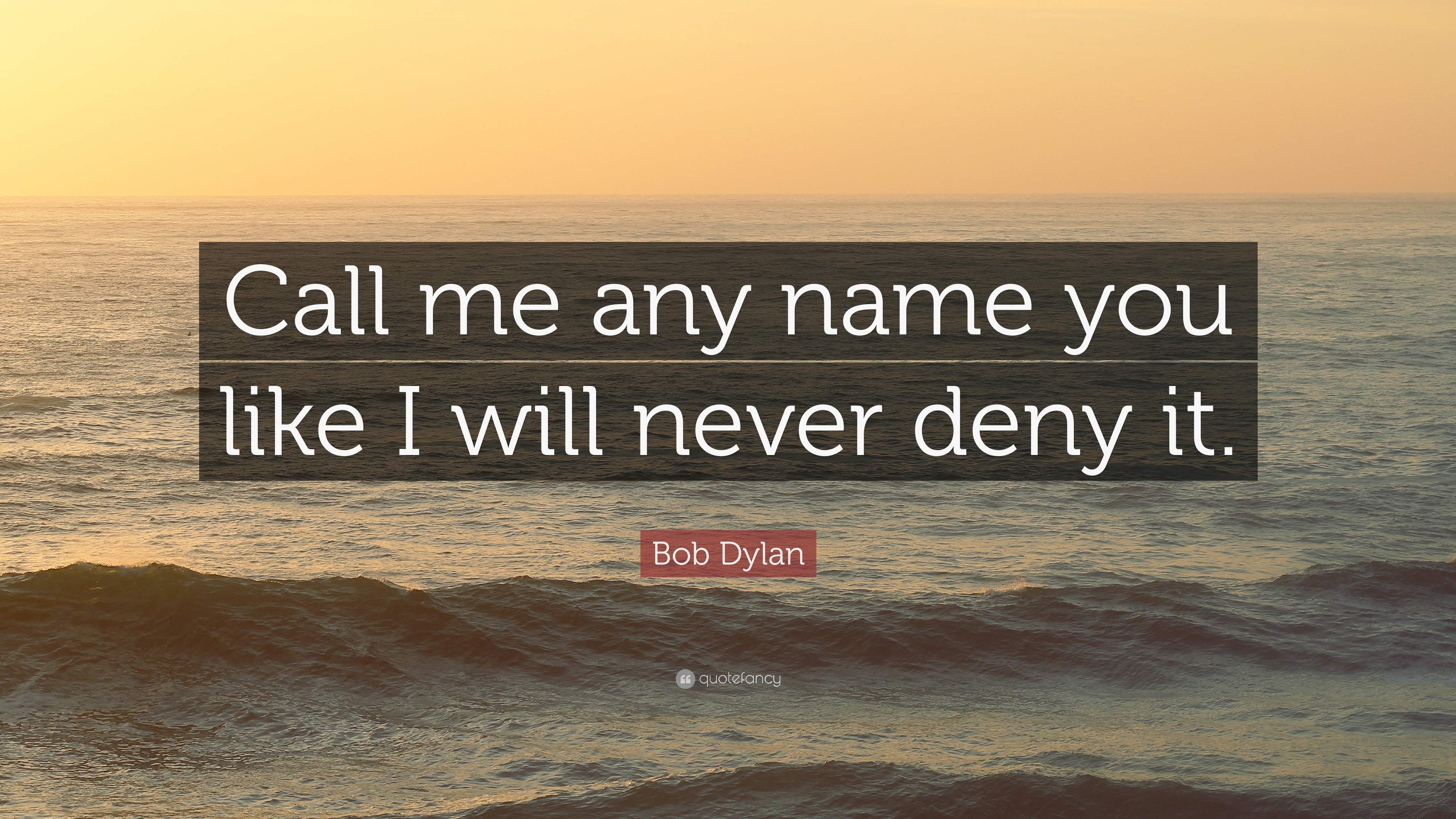 "Gulliver S Travels Quotes And Page Numbers: Bob Dylan Quote: ""Call Me Any Name You Like I Will Never"