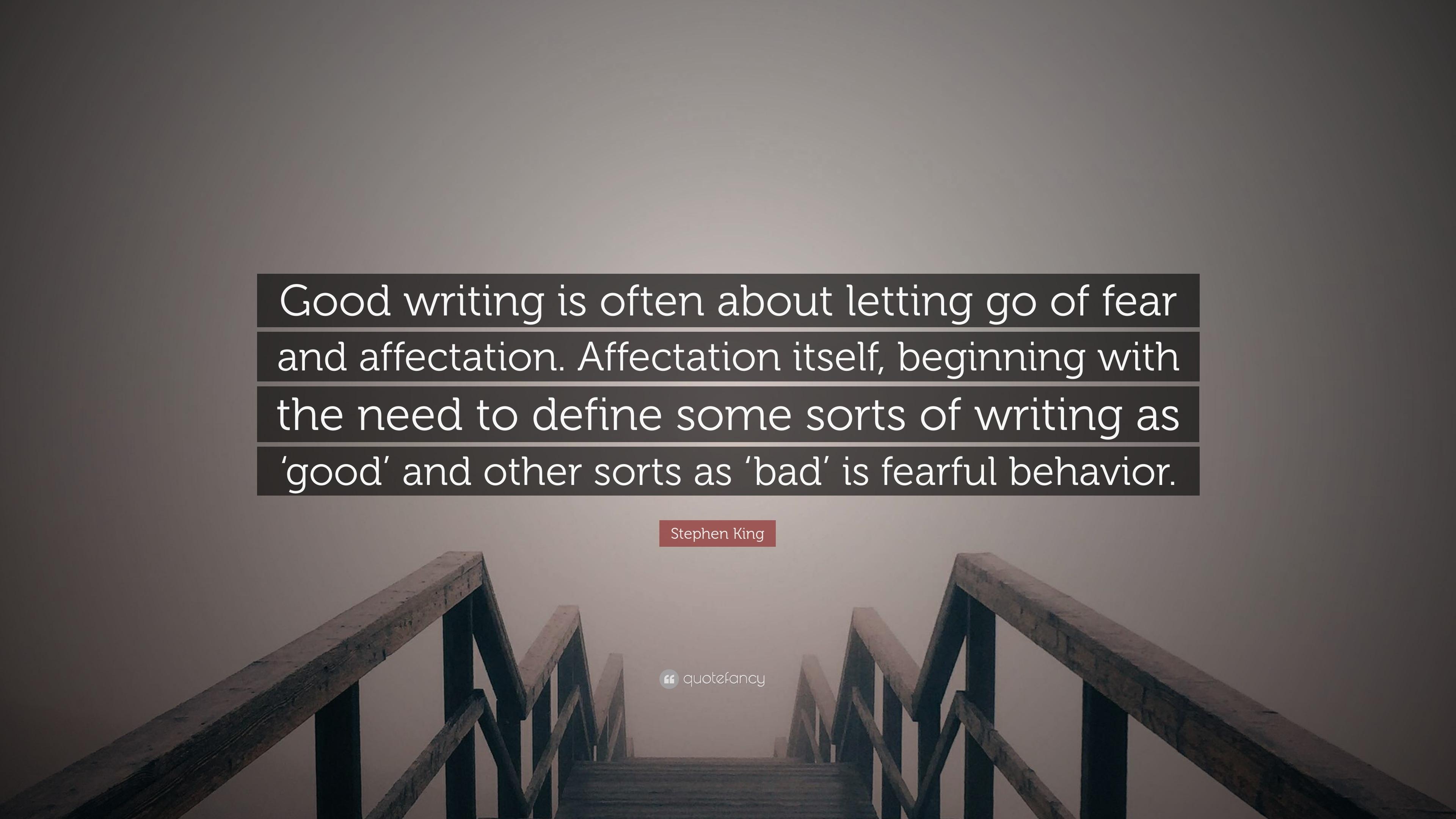 define good writing