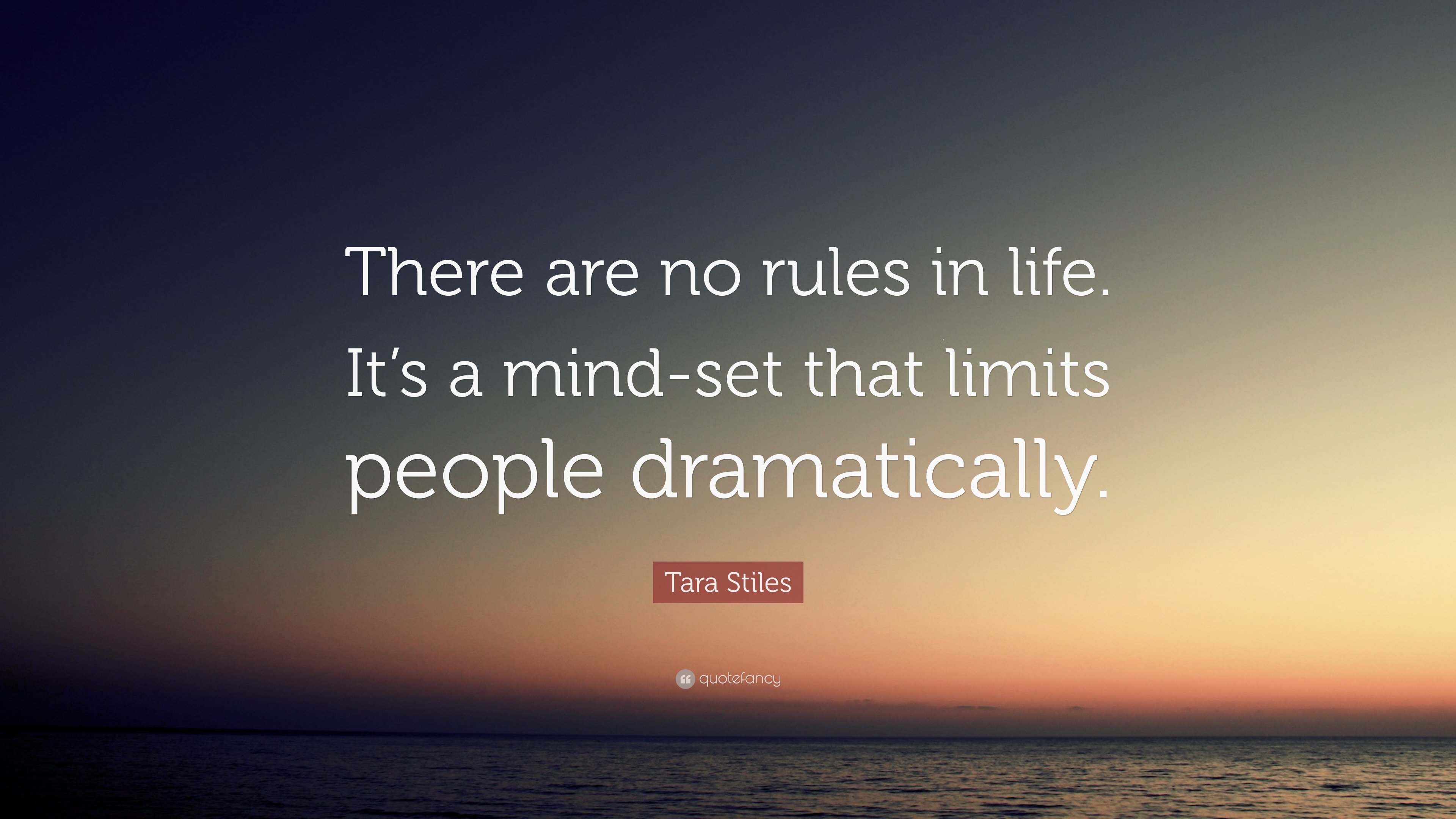 Quotes rules of life 7 Rules
