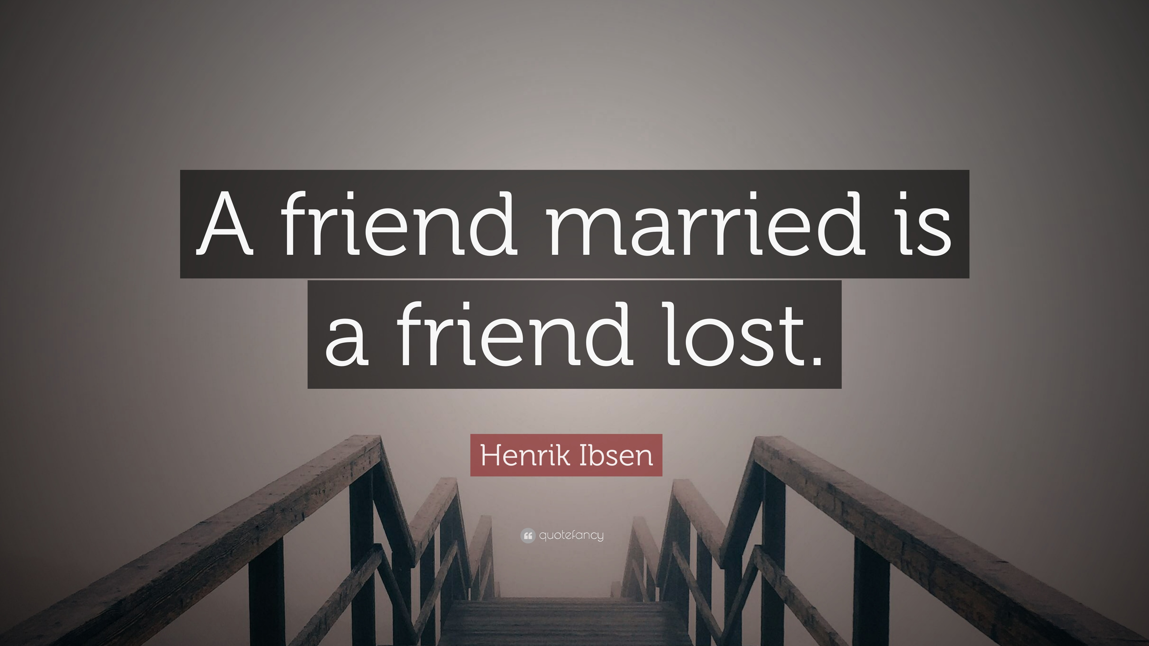 Married with a friend