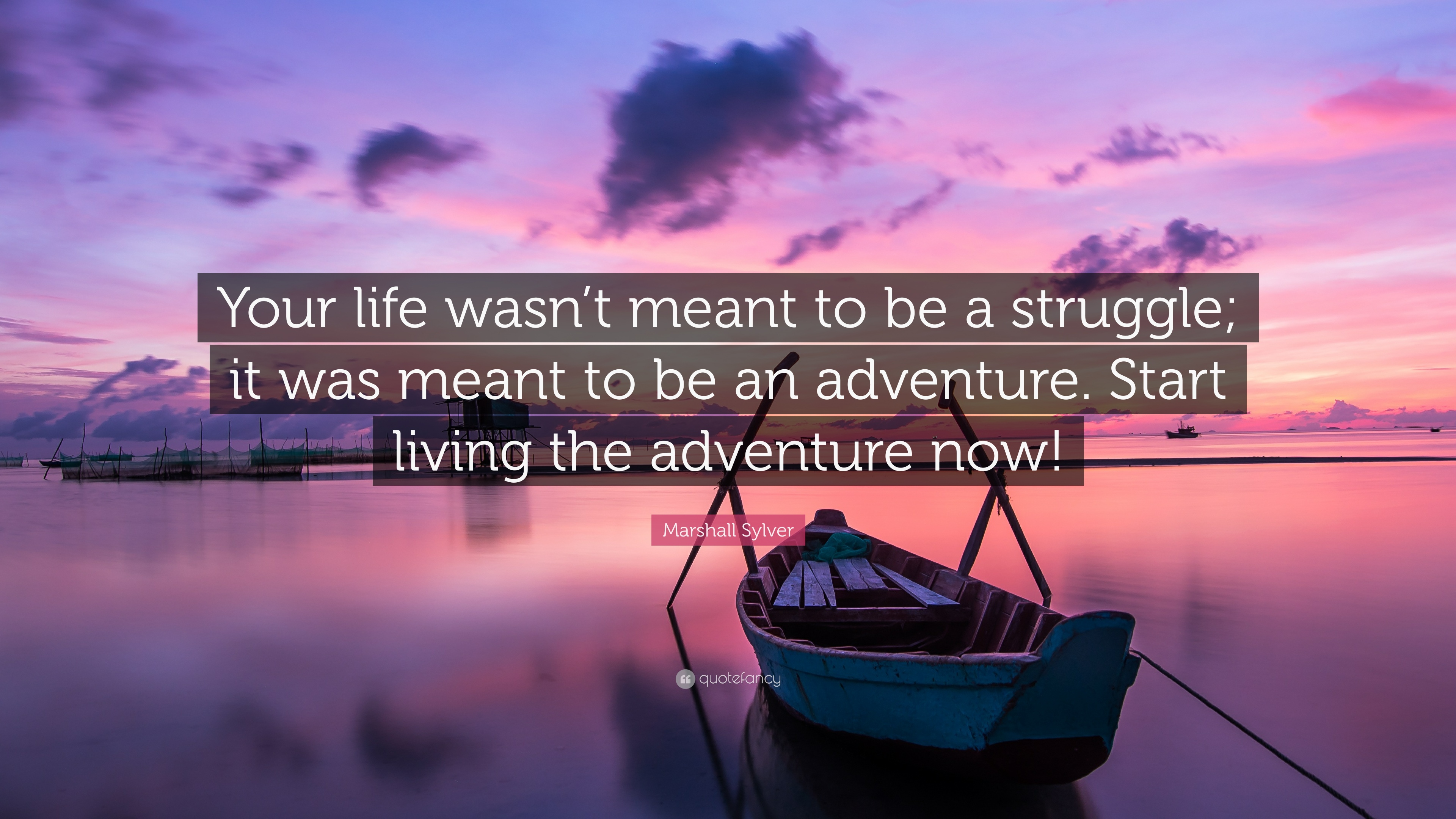 Marshall Sylver Quote Your Life Wasnt Meant To Be A Struggle It