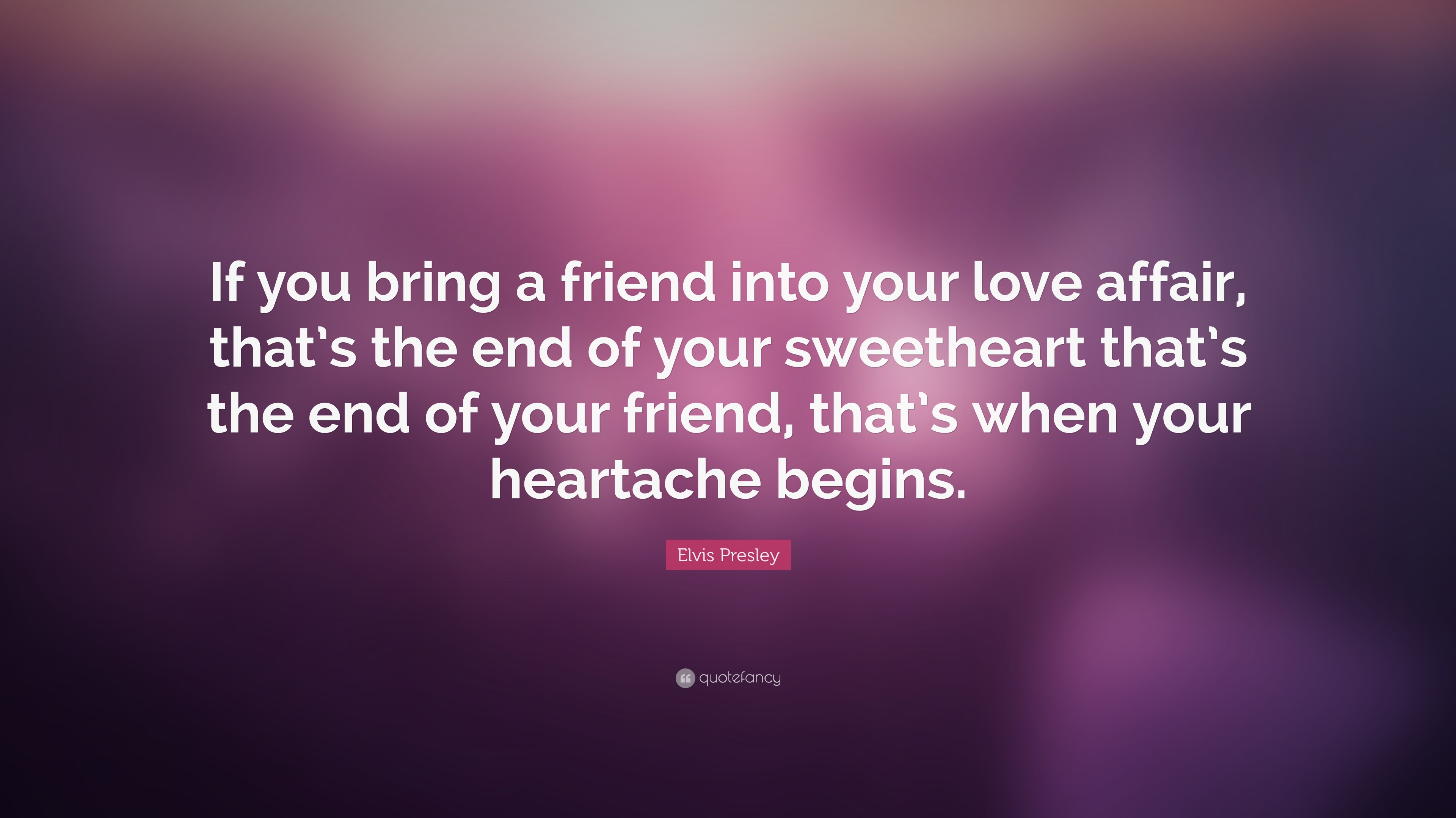 What if you love a friend