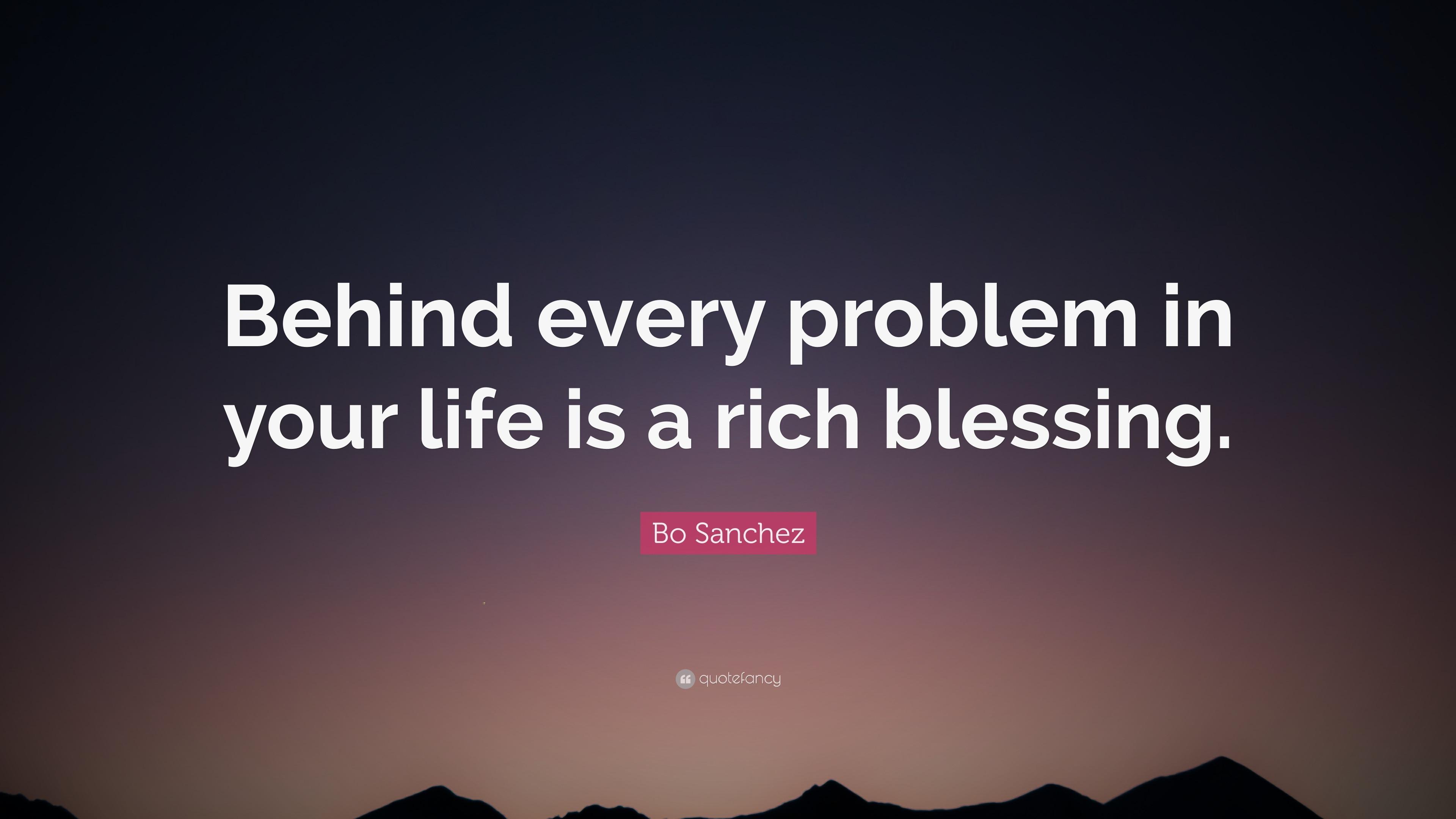 Problem Quotes Bo Sanchez Quotes 48 Wallpapers  Quotefancy