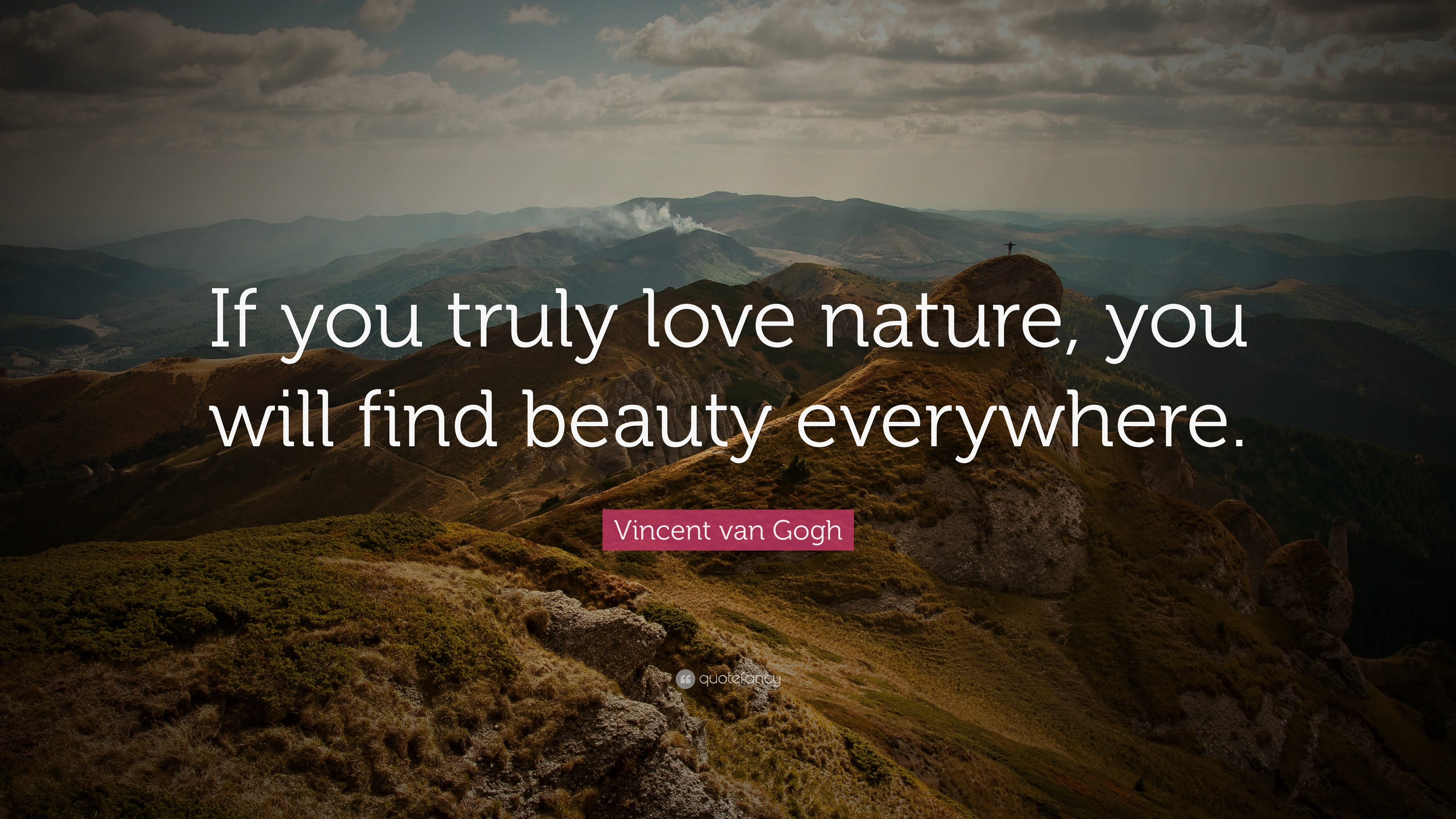 nature truly beauty gogh van everywhere vincent quote wallpapers quotefancy