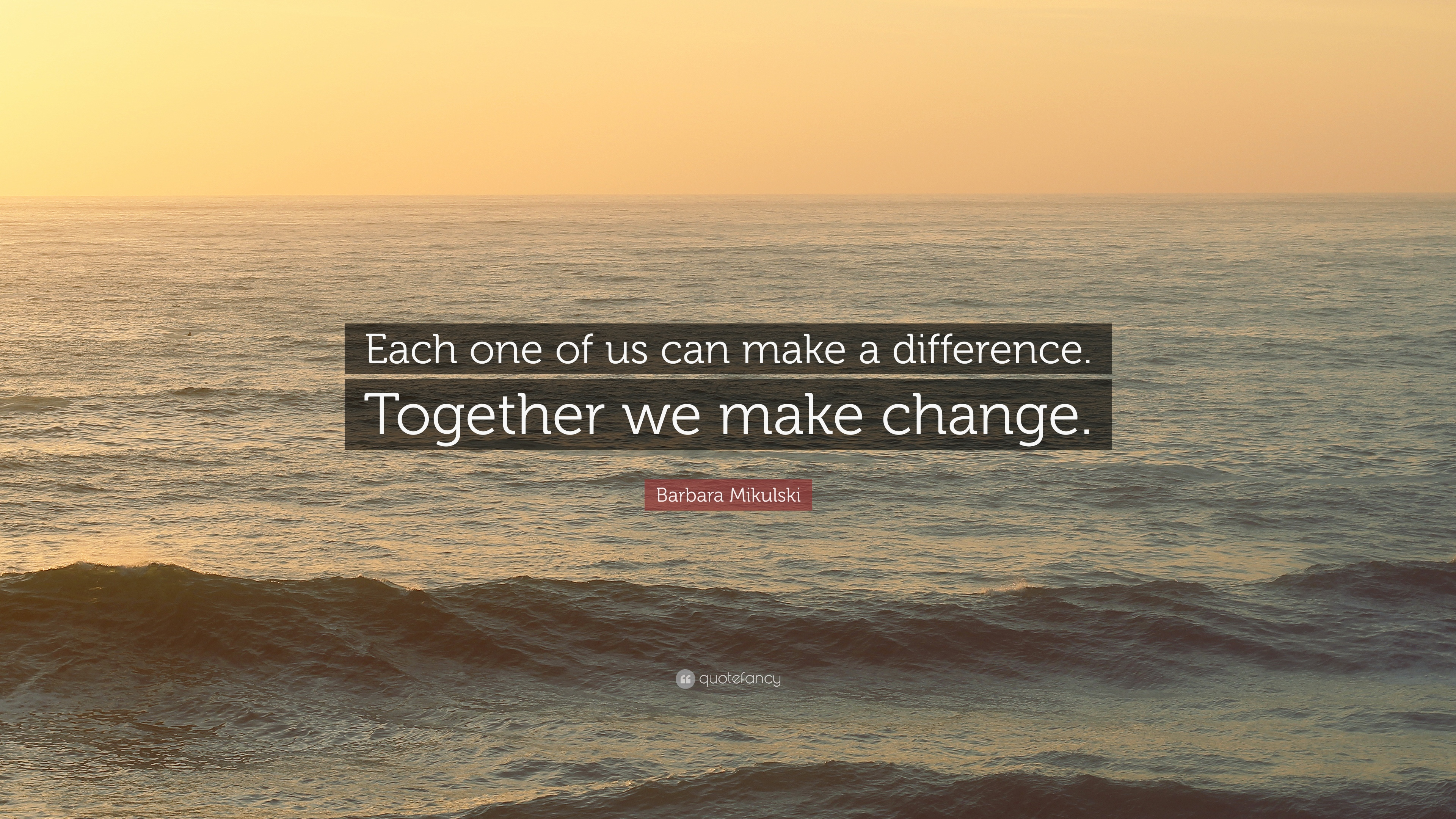 Can one person make a difference essay