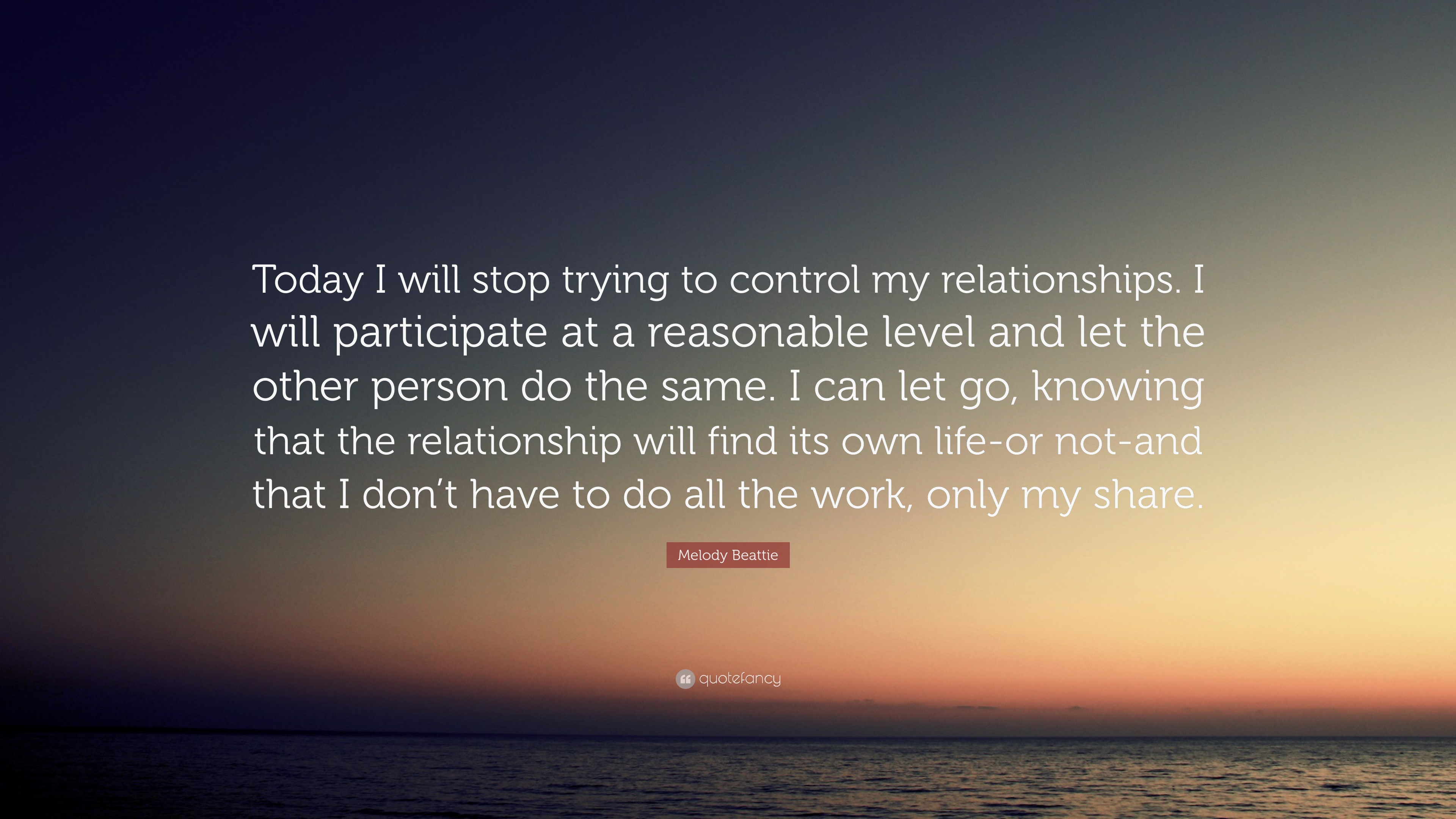 Letting Go Of Control In A Relationship
