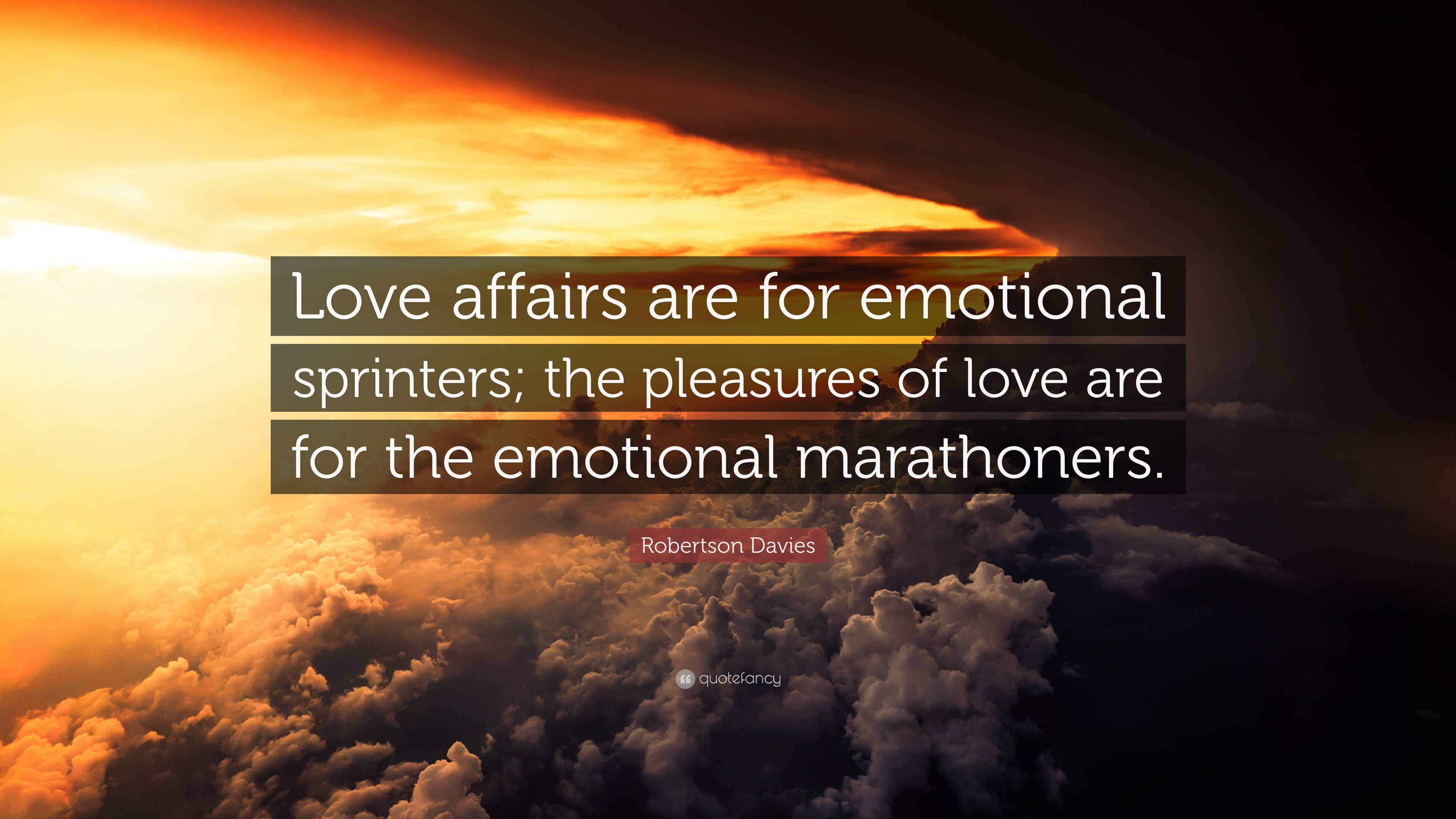 Pleasures of love essay robertson davies