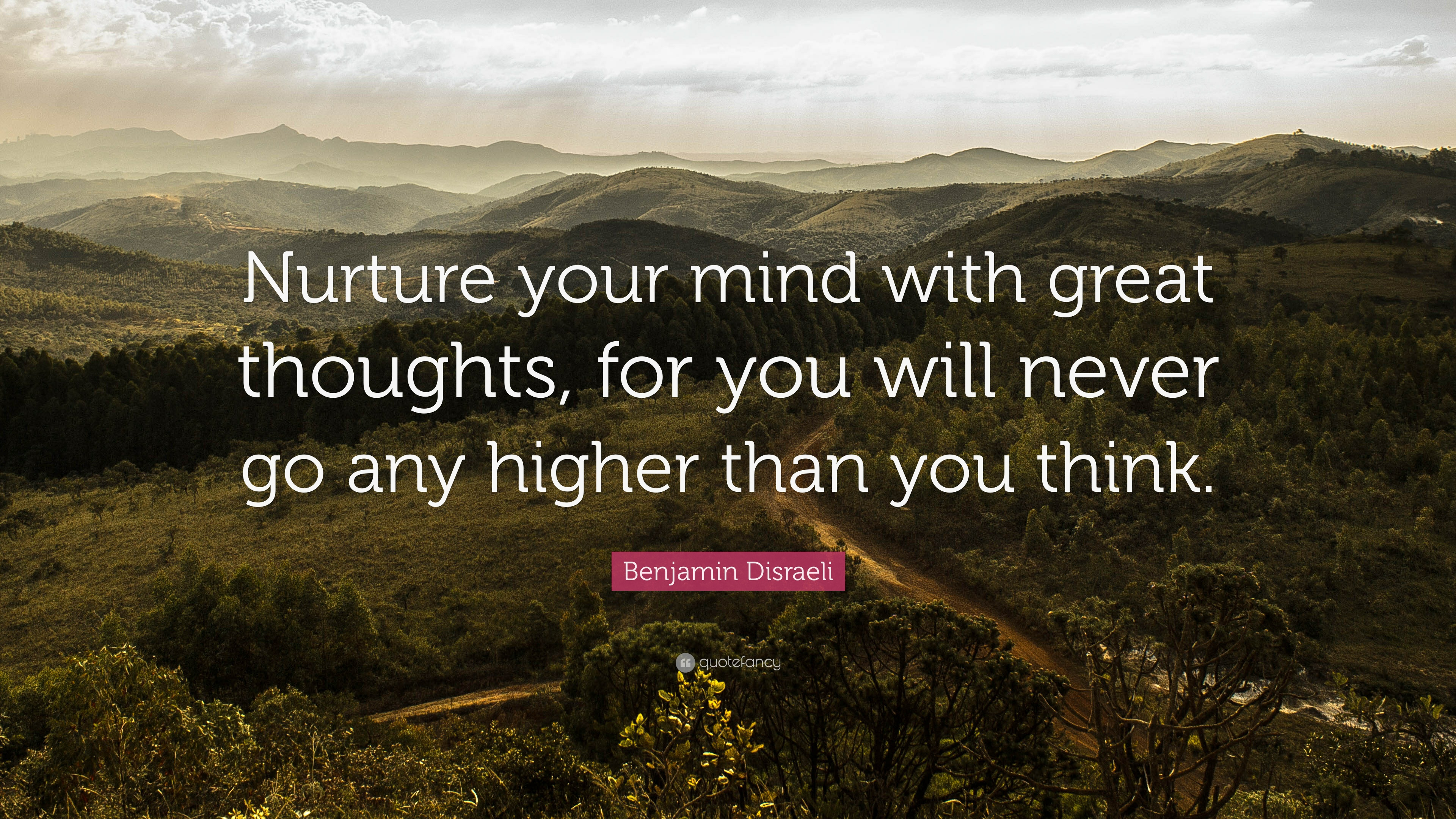 Superb Positive Quotes: U201cNurture Your Mind With Great Thoughts, For You Will Never  Go