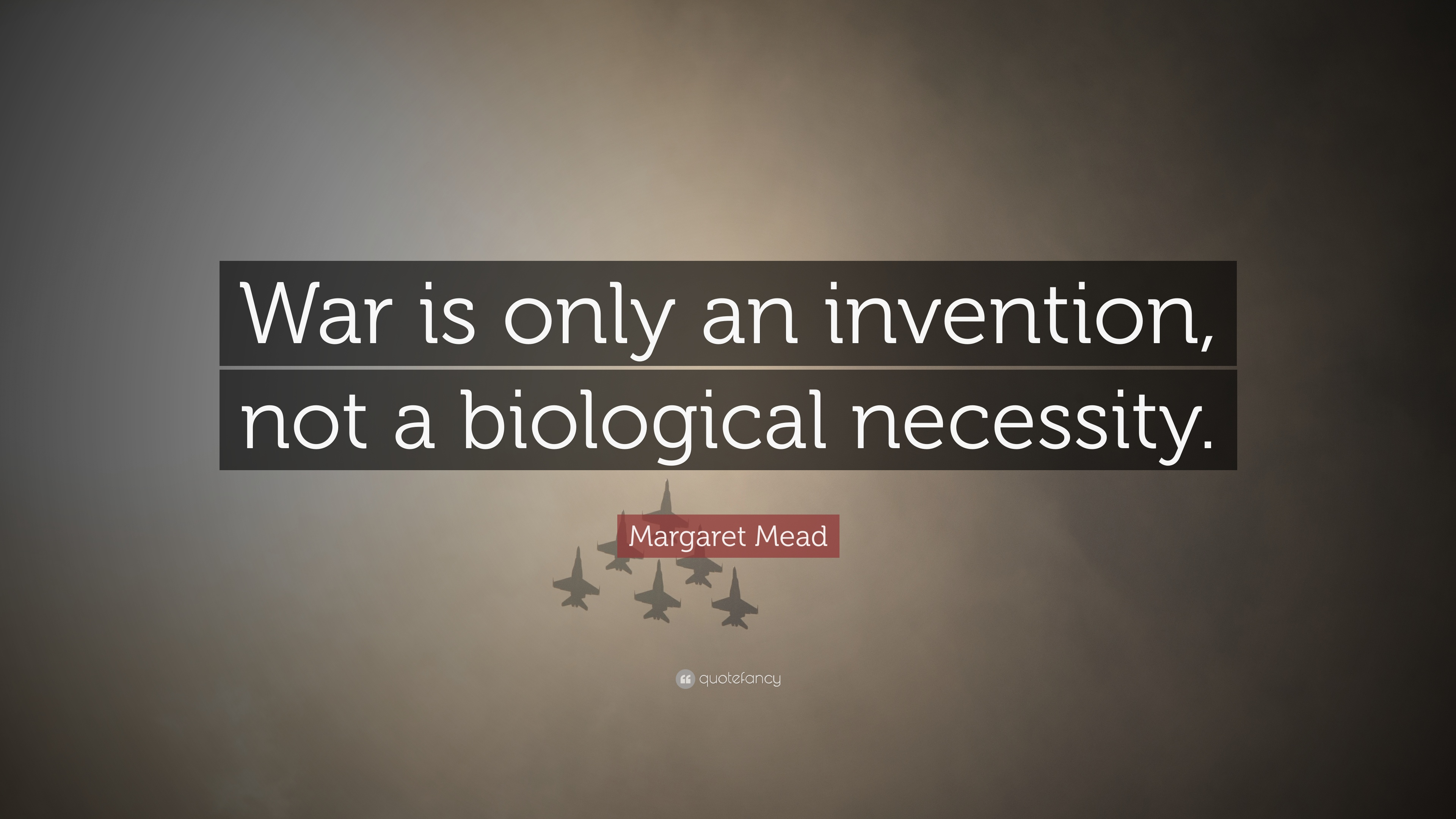 "warfare an invention not a biological necessity essay ""war and the threat of war are not the only determinants of the  john u nef,  war and human progress: an essay on the rise of  margaret mead, war is  only an invention, not a biological necessity (betts, p219-23."