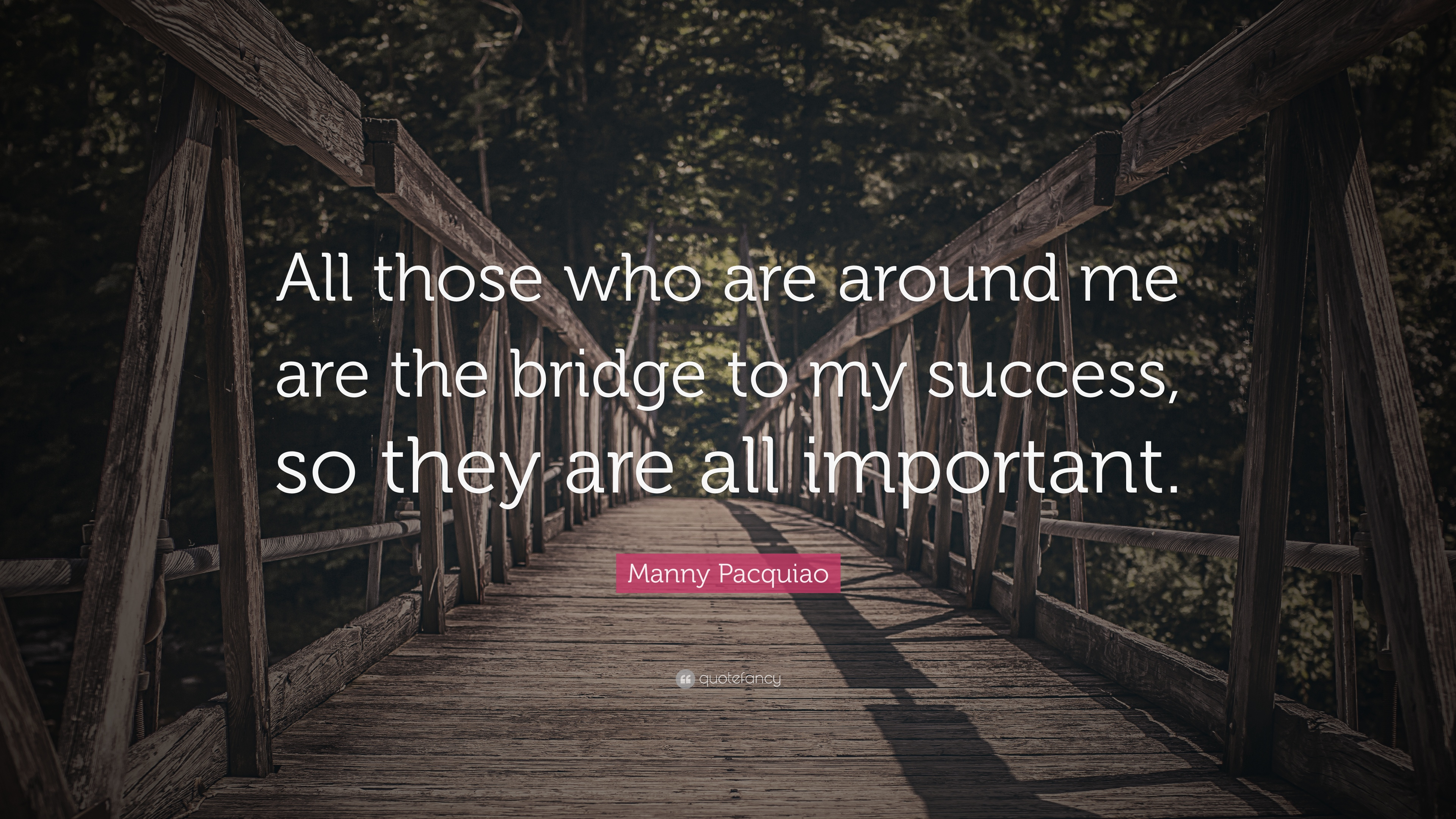 success to me is