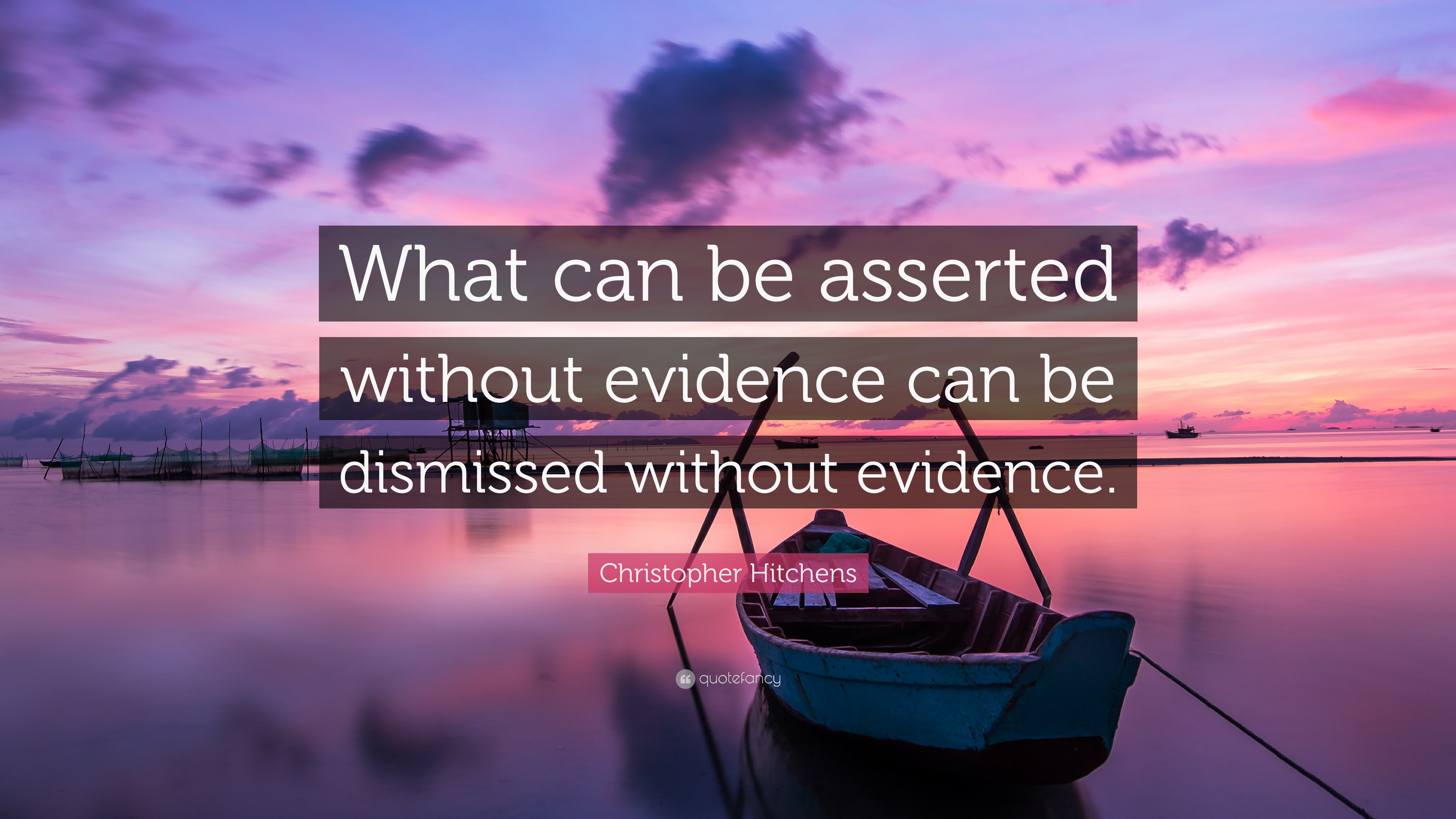 That which can be asserted without