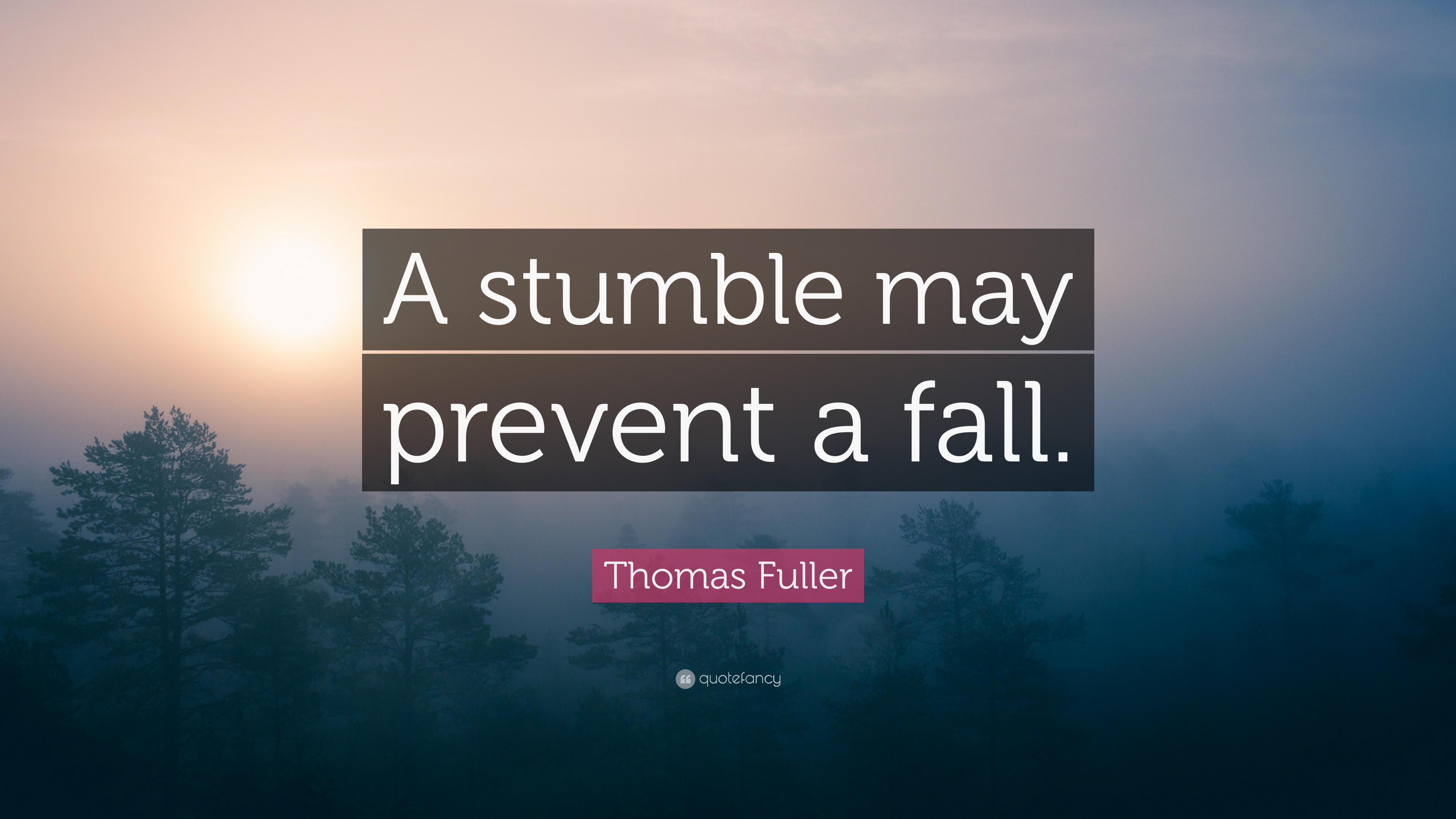 "a stumble may prevent a fall essay イギリスのことわざ。 ""a stumble may prevent a fall "" ""つまずきは、転落を防いでくれる。"" 「転落」する前に、「つまづき."