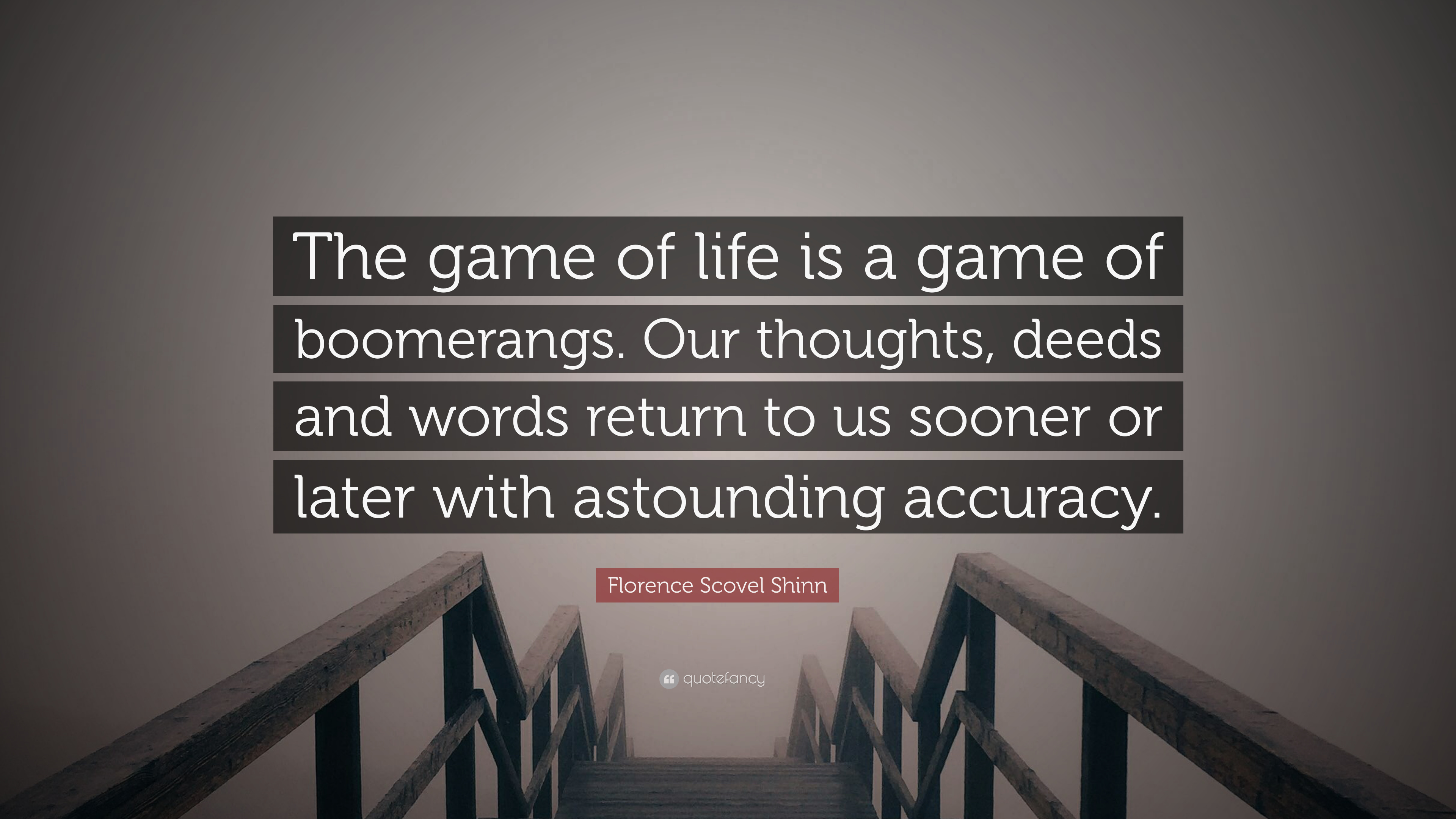 Florence Scovel Shinn Quote The Game Of Life Is A Game Of
