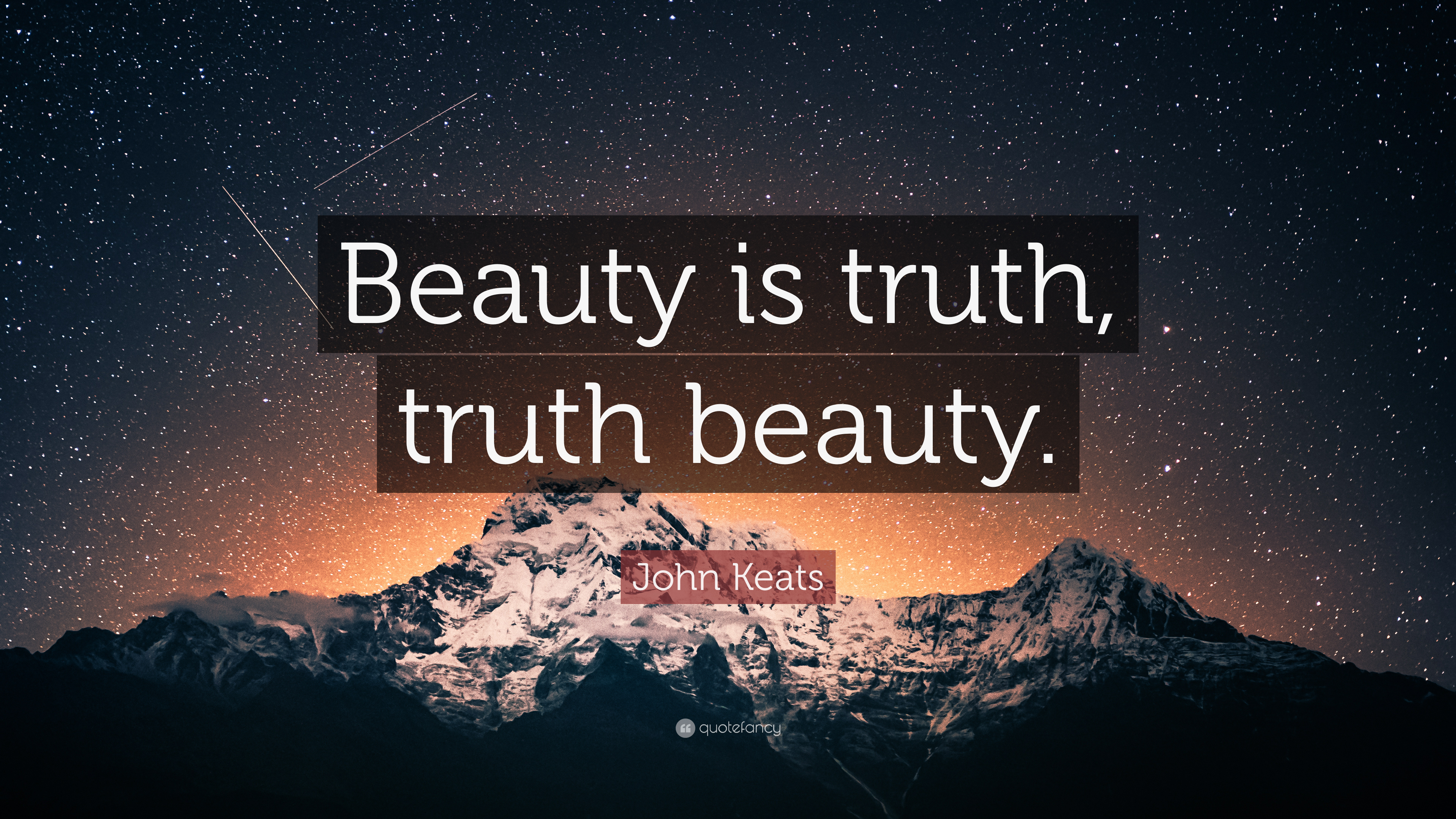 "John Keats Quote: ""Beauty is truth, truth beauty."" (12 ..."