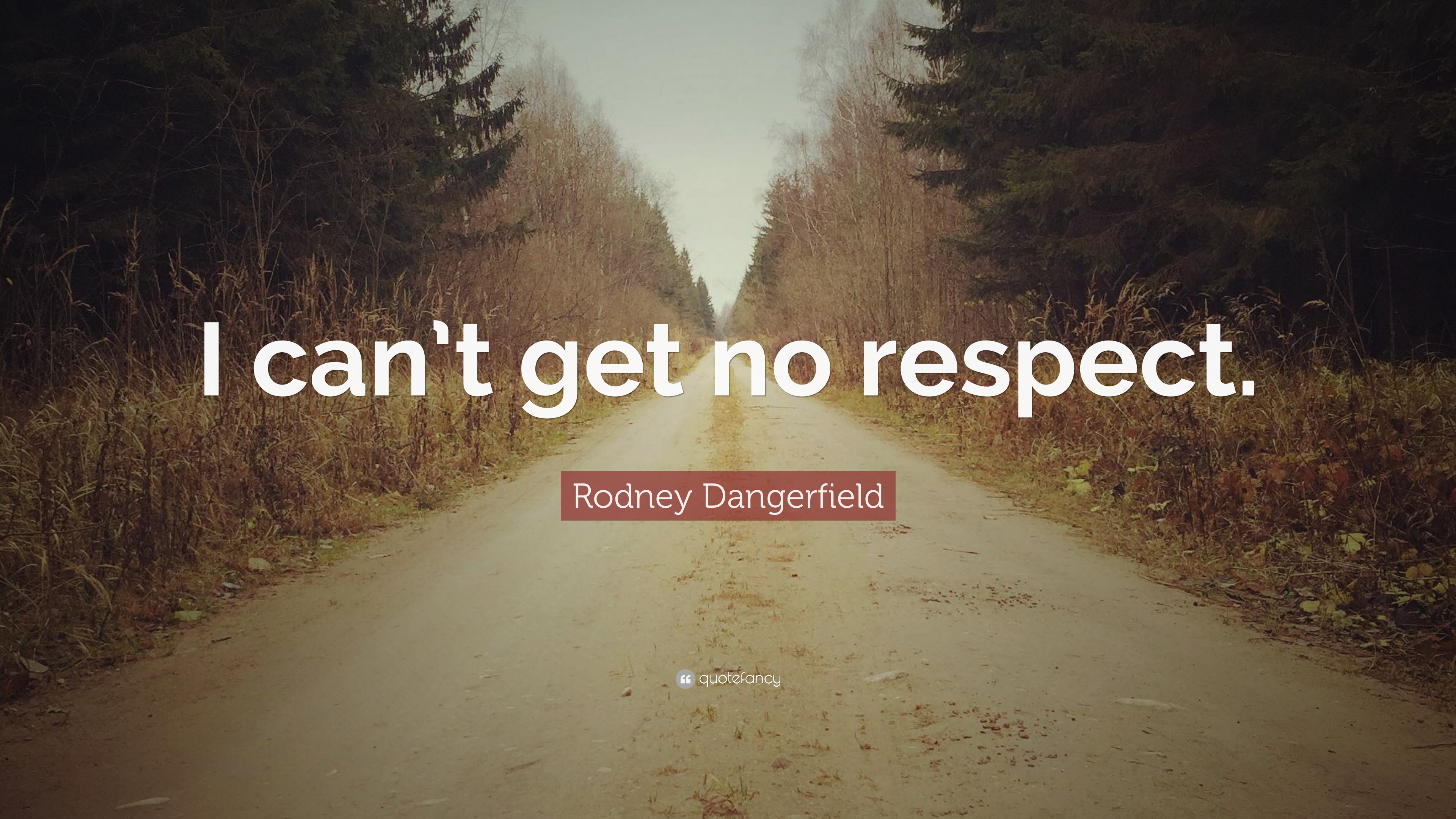 Rodney Dangerfield Quote I Cant Get No Respect 7 Wallpapers