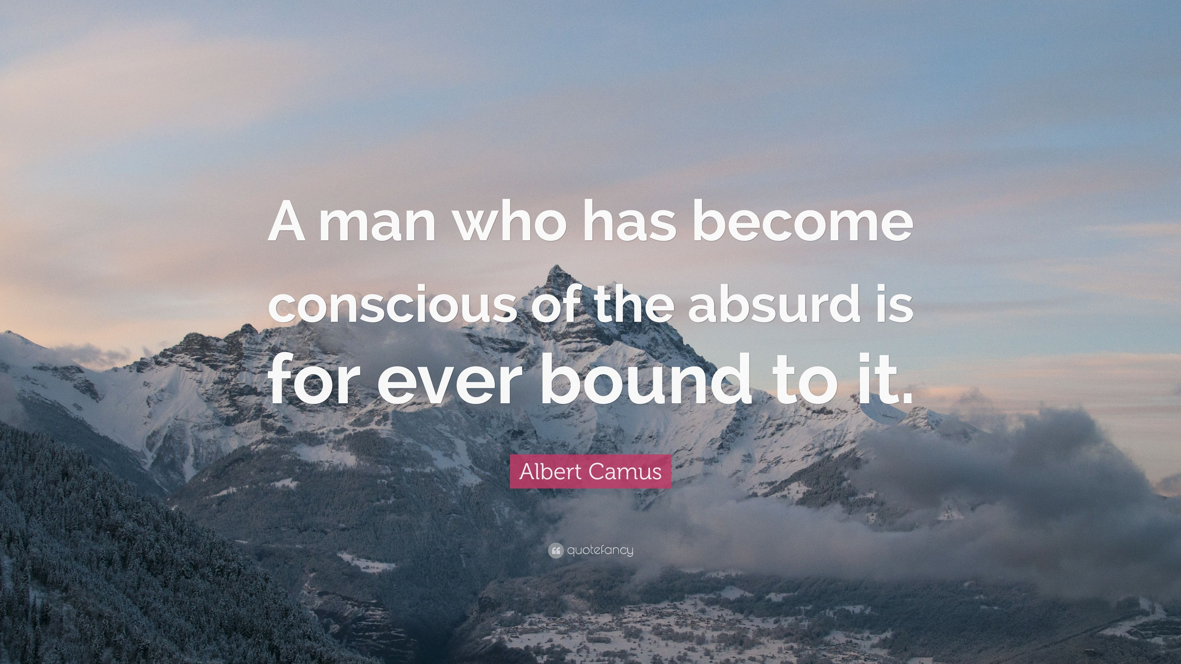 albert camus definition of the absurd man Definition of absurd in the definitionsnet dictionary meaning of absurd what does absurd mean  essential concept and the first truth--albert camus absurd.