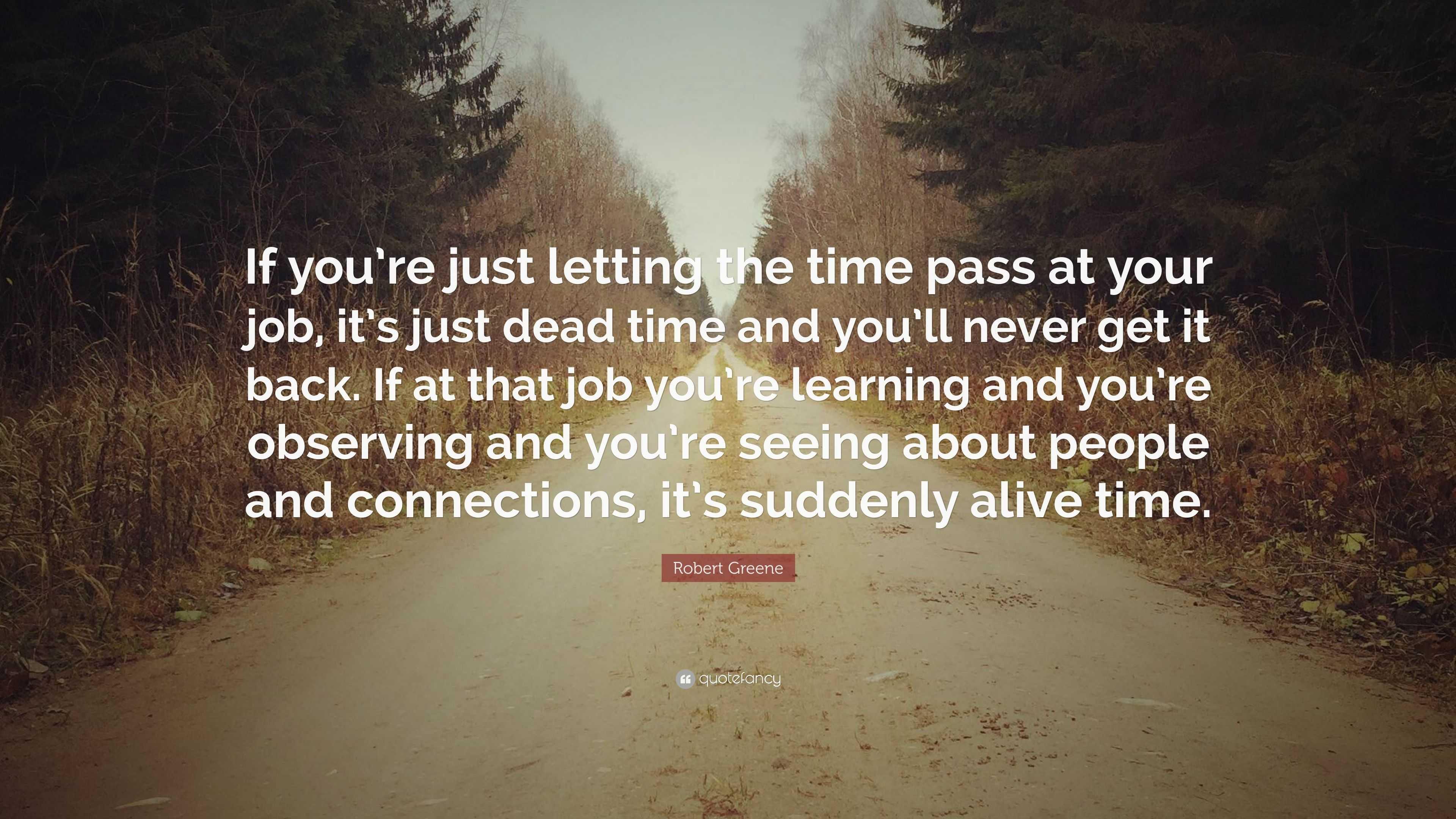 Time pass job