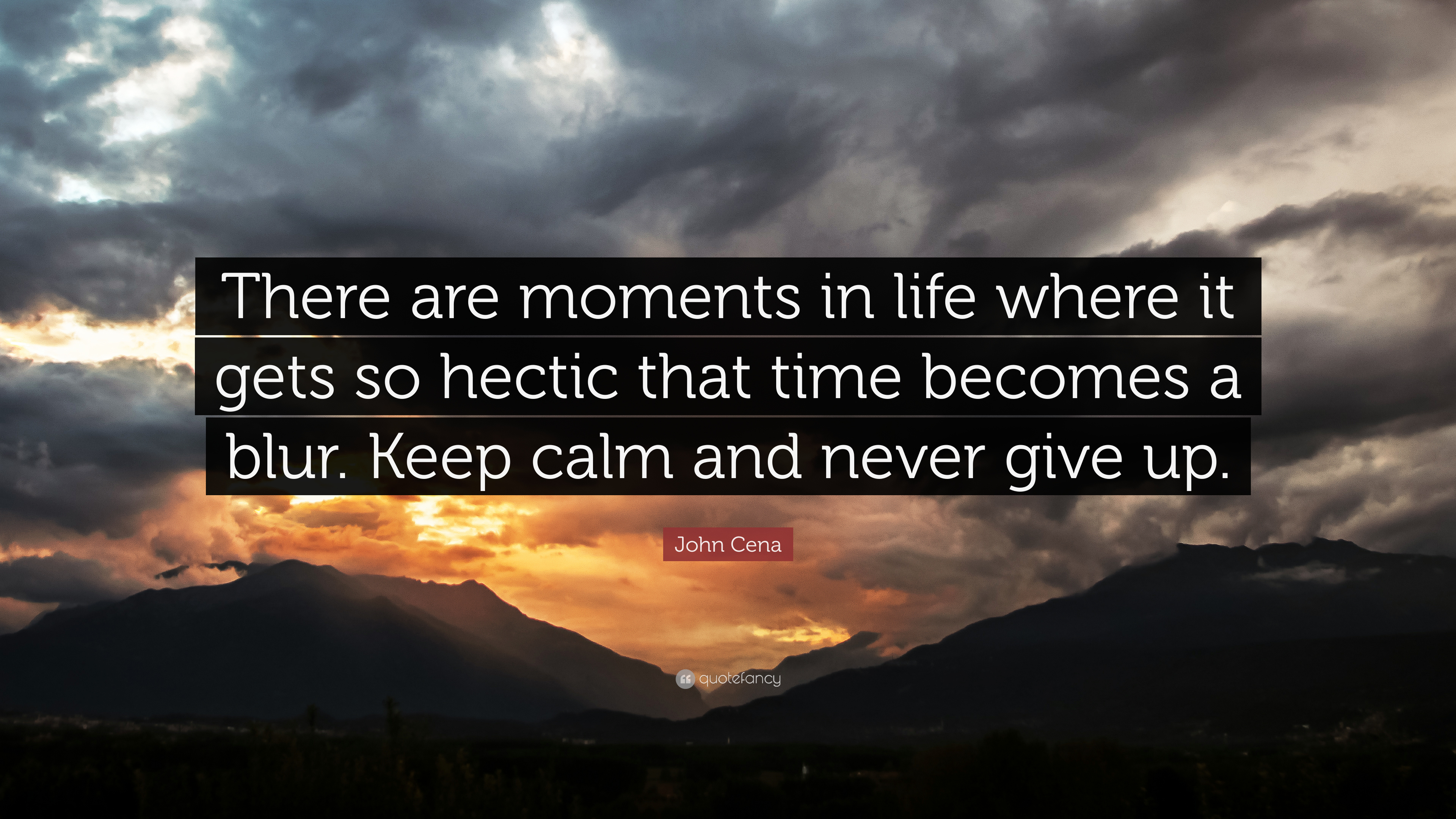 """John Cena Quote: """"There are moments in life where it gets ..."""