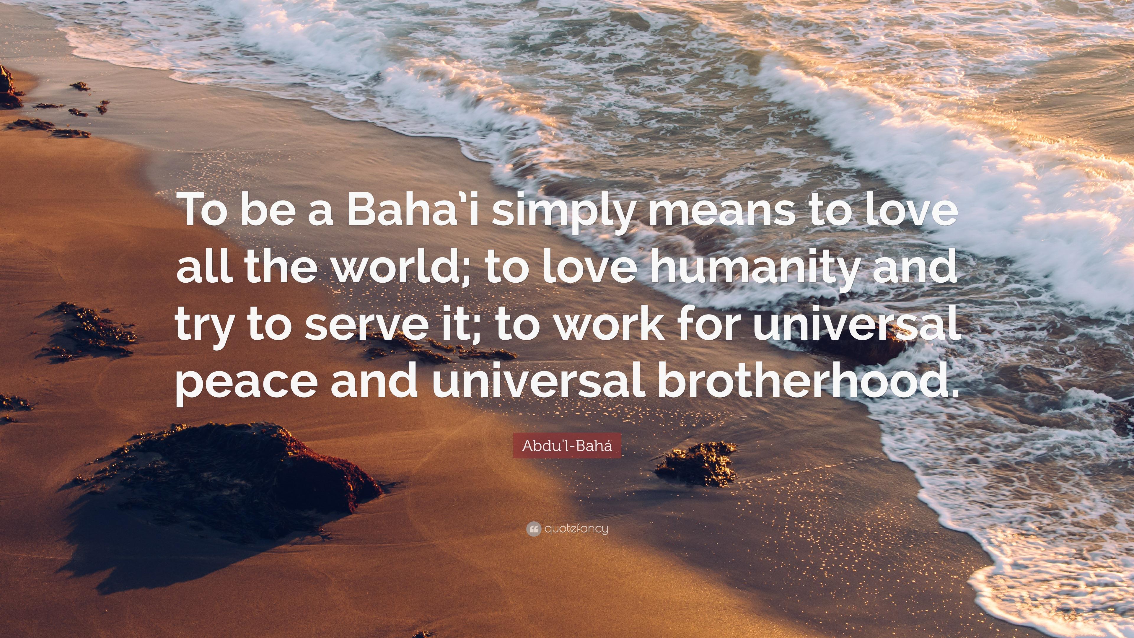 brotherhood means essay